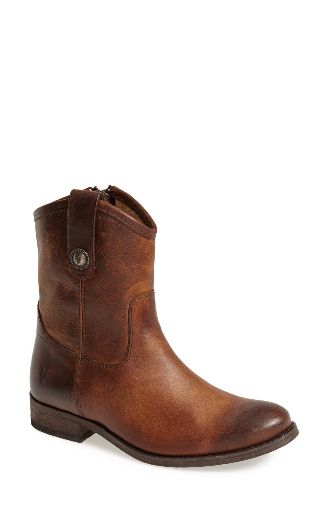 Frye 'Melissa Button' Short Boot (Women) (Regular Retail Price: $297.95)