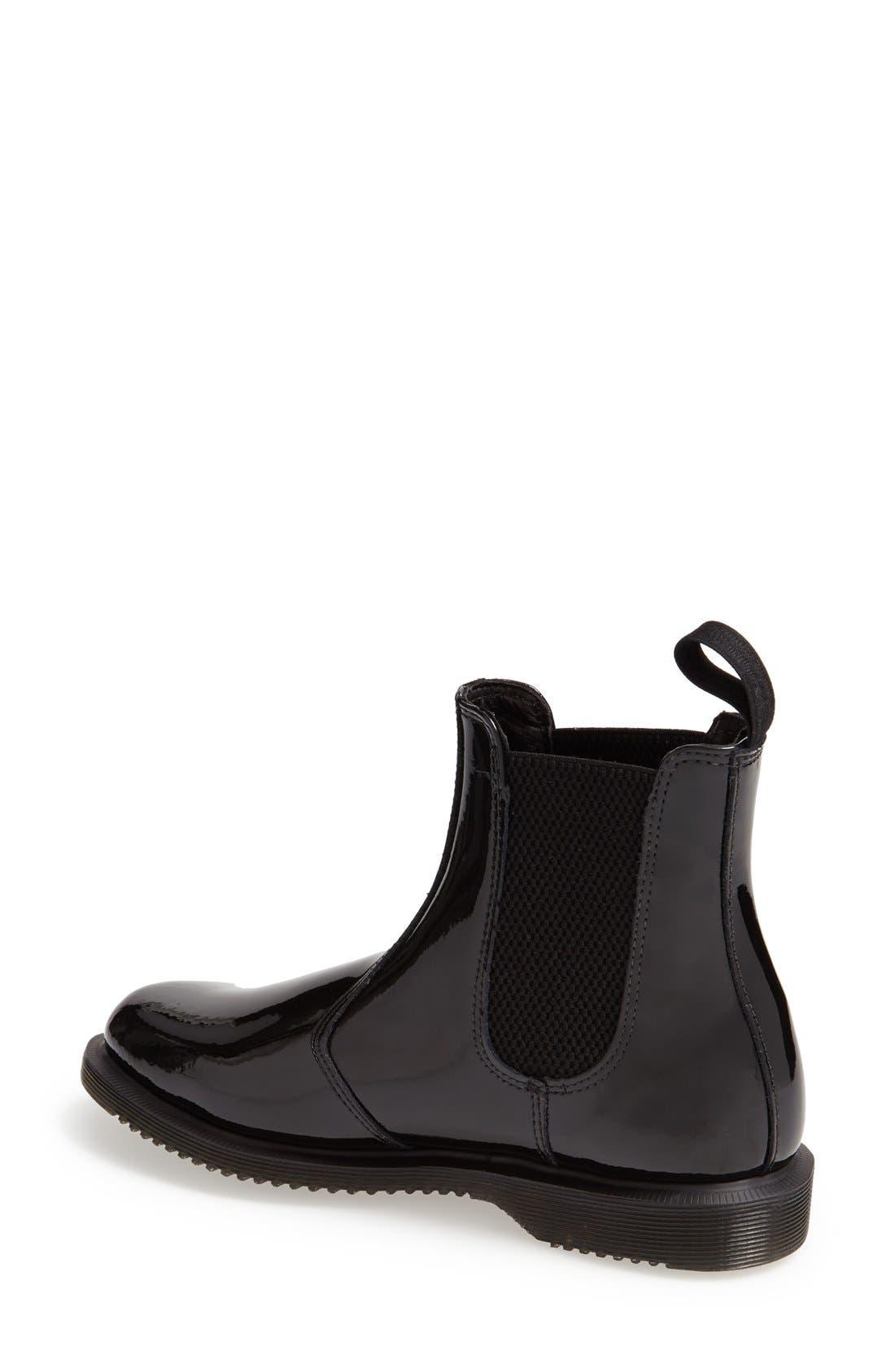 Alternate Image 2  - Dr. Martens 'Faun' Patent Chelsea Boot (Women)