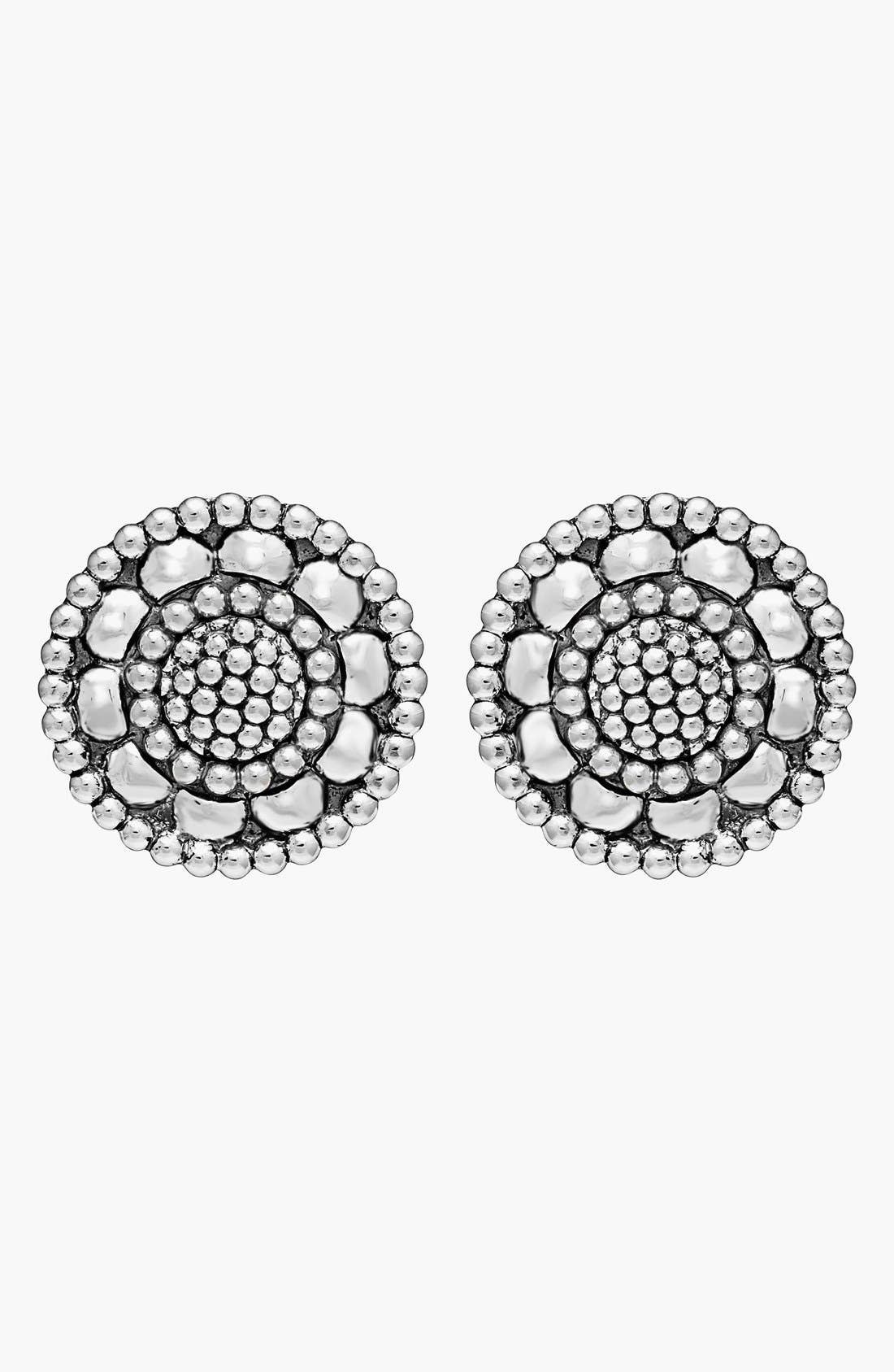 Alternate Image 2  - LAGOS 'Voyage' Caviar Stud Earrings