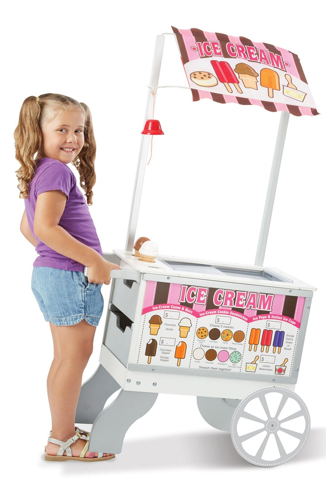 Alternate Image 2  - Melissa & Doug 'Snack & Sweets' Food Cart