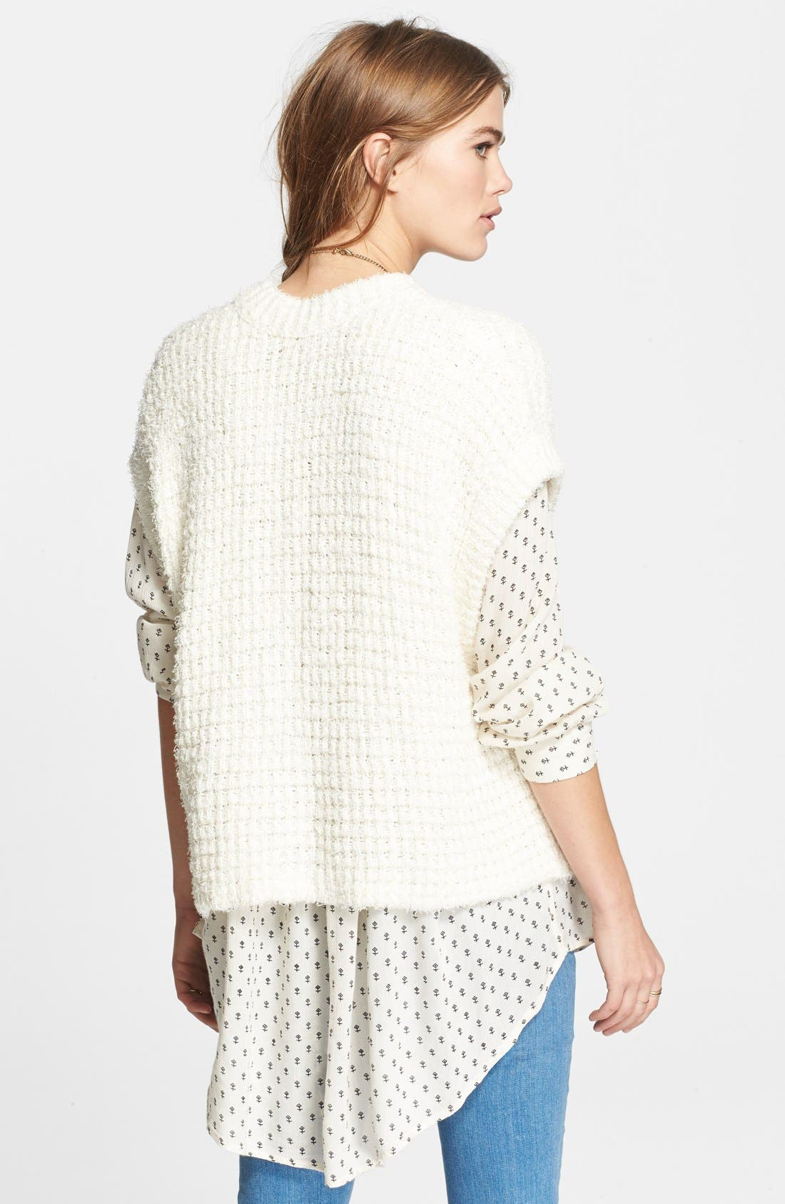 Alternate Image 2  - Free People 'Stockholm Snap' Short Sleeve Cardigan