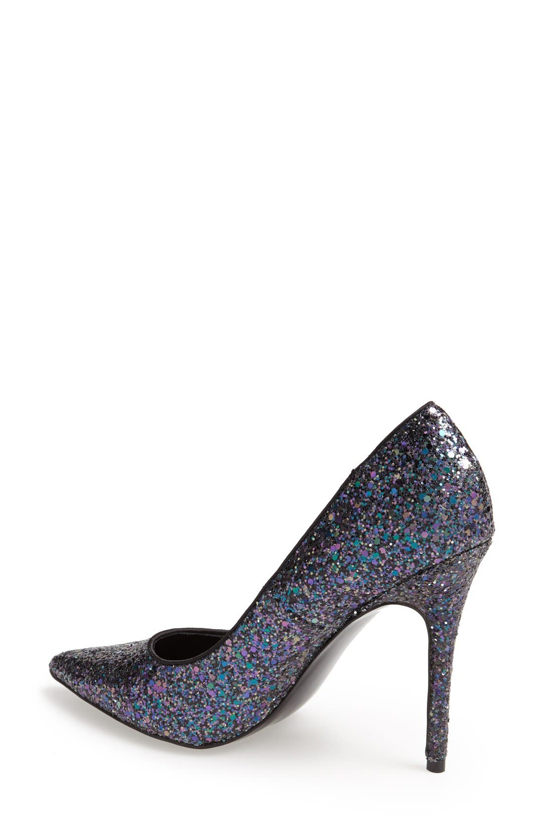 Alternate Image 2  - Steve Madden 'Atlantyc' Glitter Pump (Women)