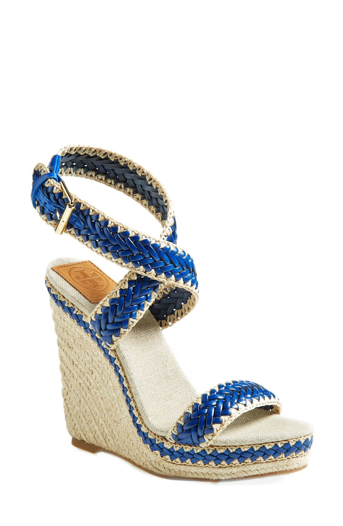 Main Image - Tory Burch 'Lilah' Espadrille Wedge Sandal (Women)