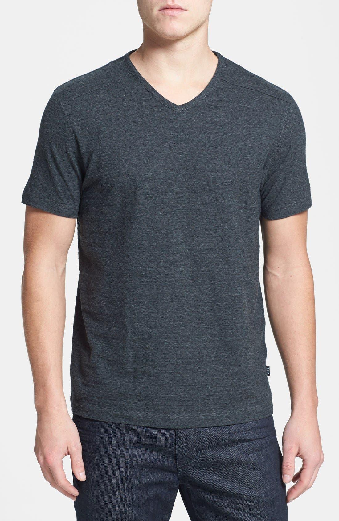 Alternate Image 1 Selected - BOSS 'Eraldo 60' Regular Fit T-Shirt