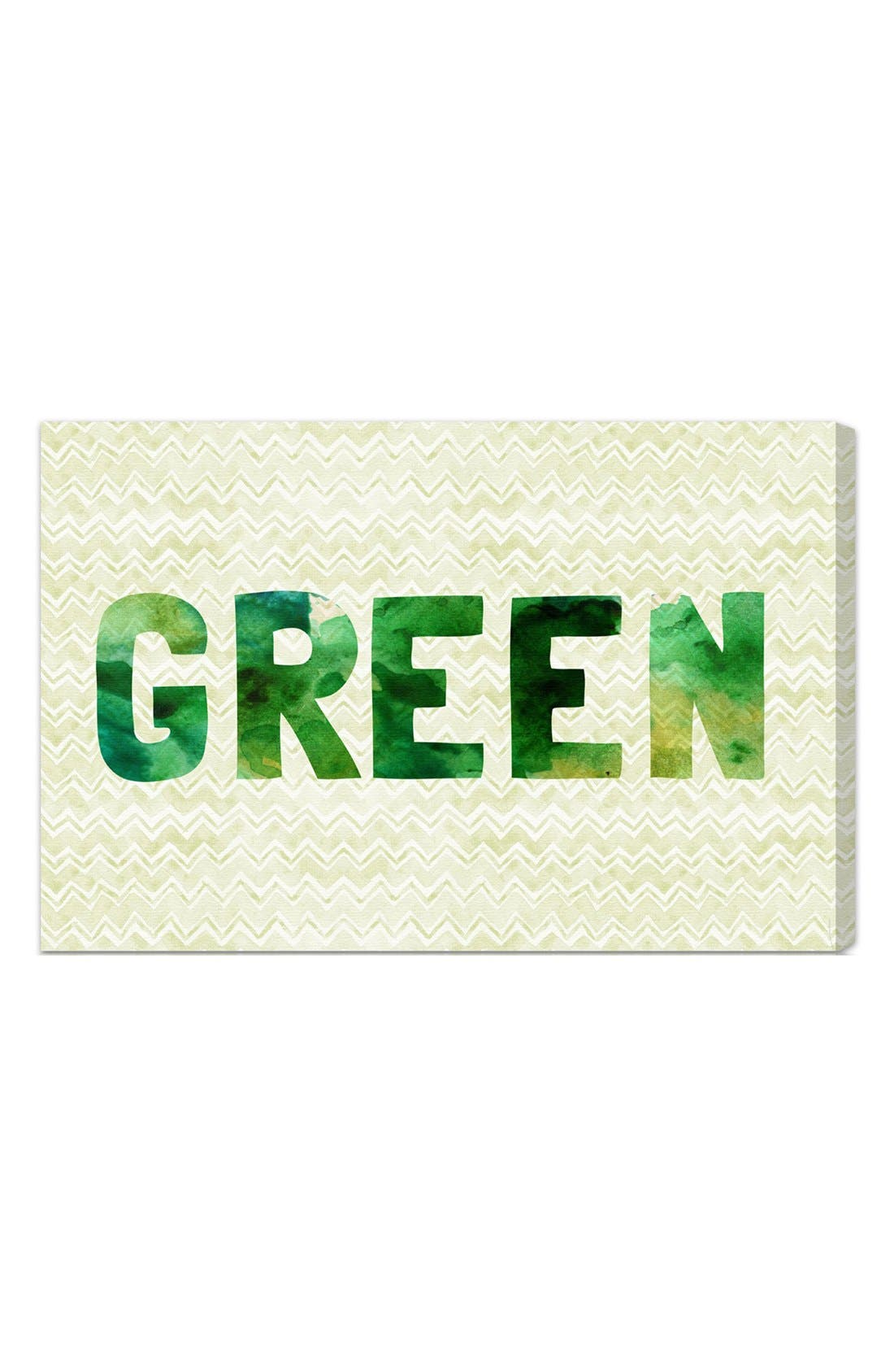 Alternate Image 1 Selected - Oliver Gal 'Green' Wall Art