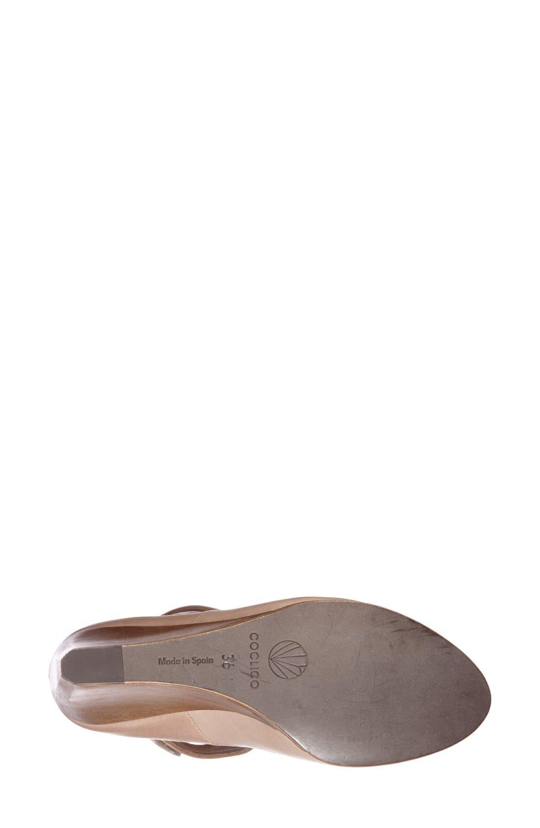 Alternate Image 4  - Coclico 'Jory' Cutout Leather Bootie (Women)