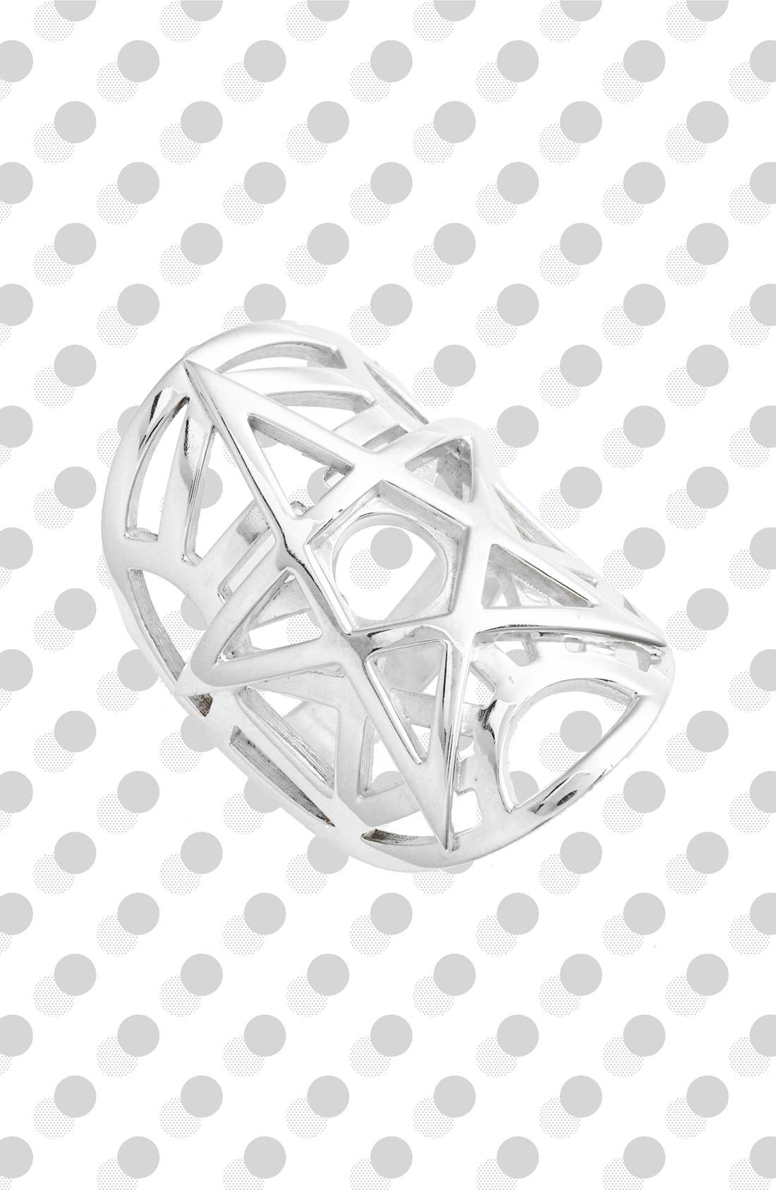 Alternate Image 1 Selected - Meadowlark Layered Sterling Silver Ring