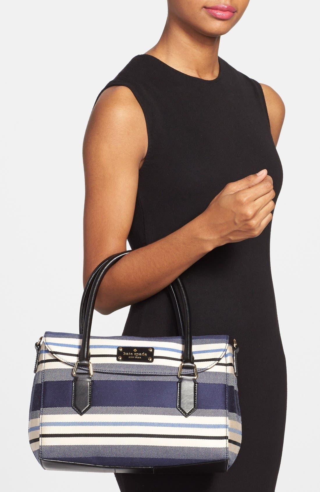 Alternate Image 2  - kate spade new york 'grove court - small leslie' stripe satchel