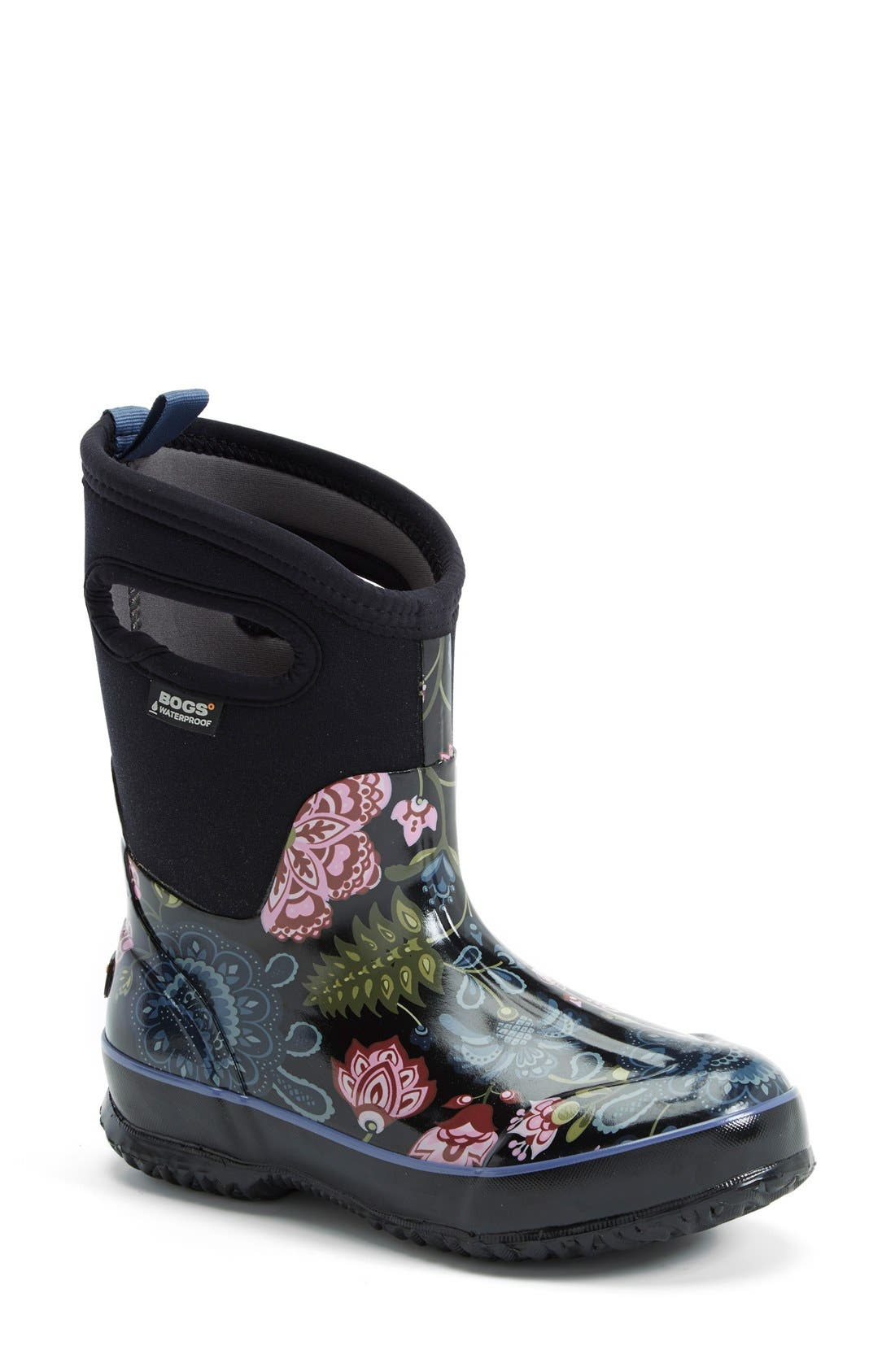 BOGS 'Classic Winter Blooms' Mid High Waterproof Snow