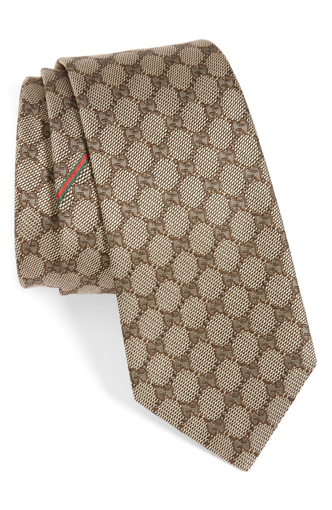 GUCCI Arend Silk Jacquard Tie