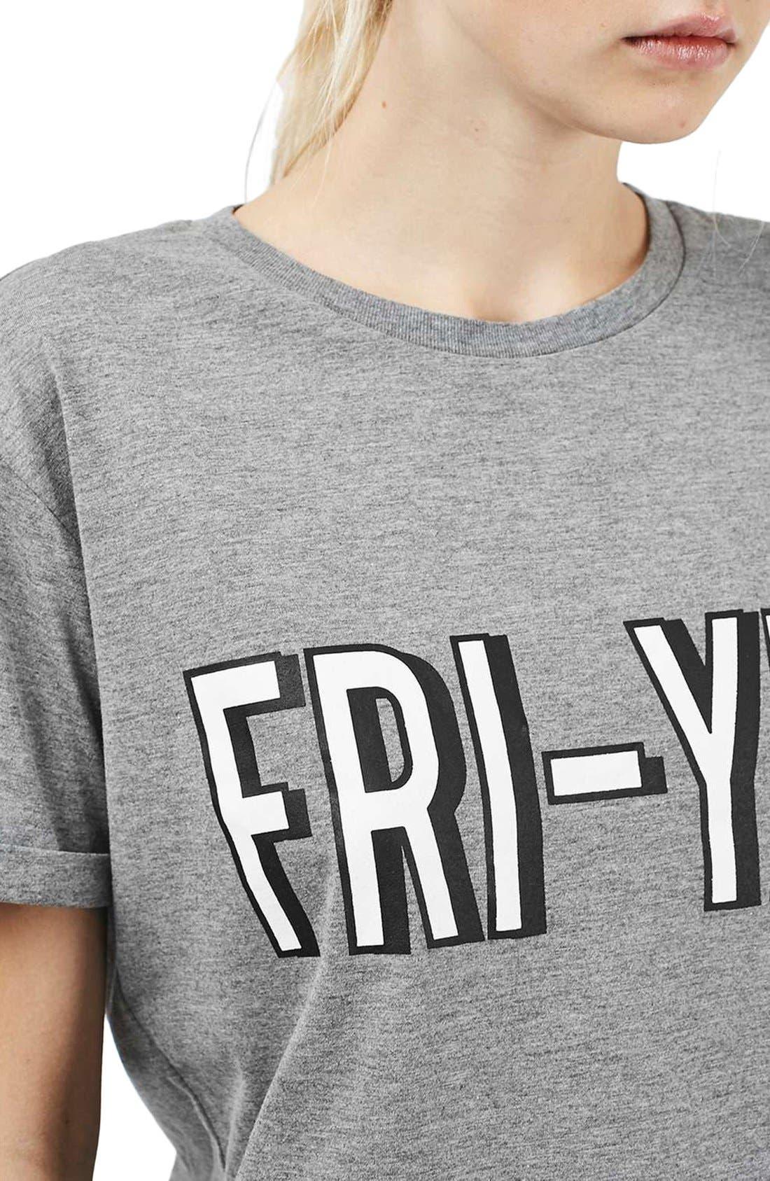 Alternate Image 5  - Topshop Fri-Yay Pajamas
