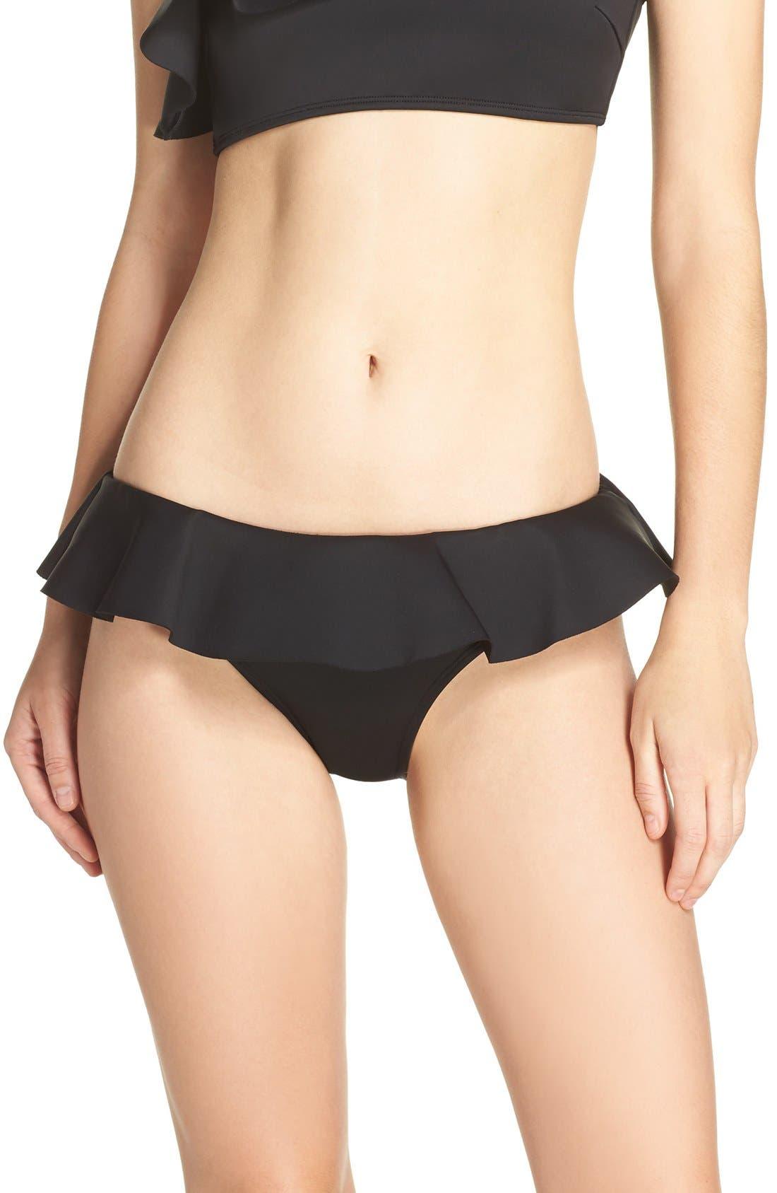 TED BAKER LONDON Ruffle Bikini Bottoms