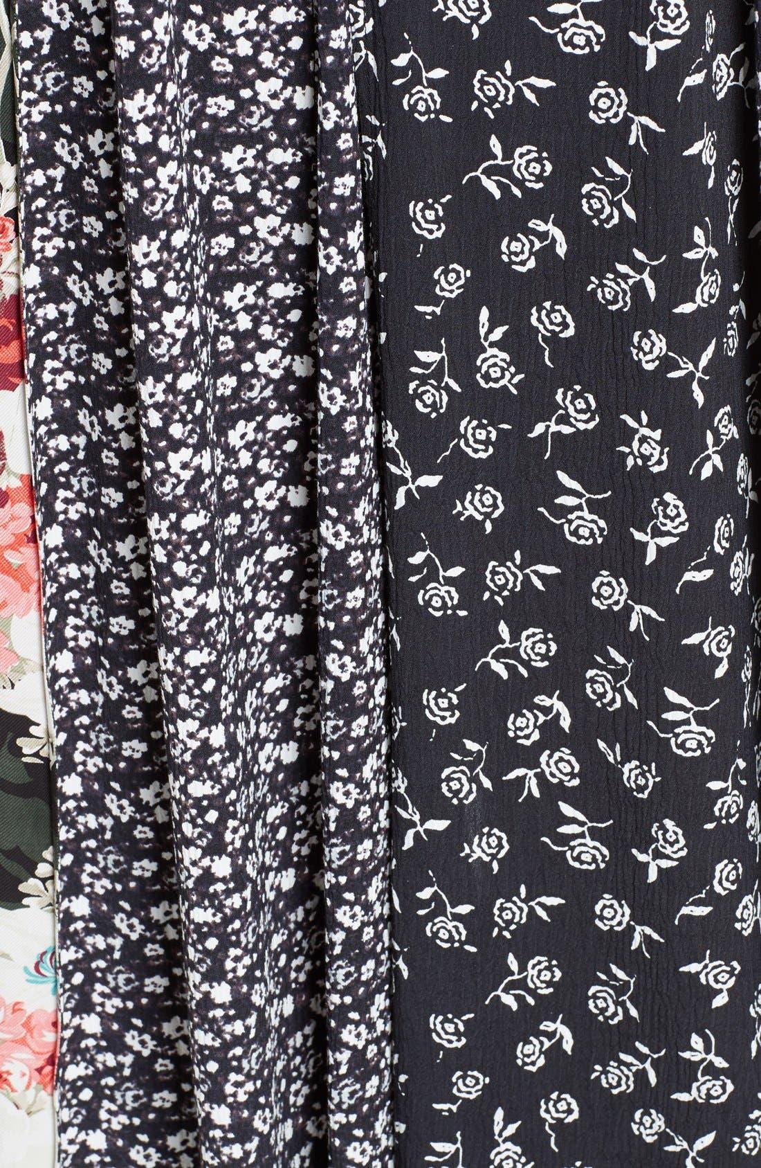 Alternate Image 5  - rag & bone Londar Print Swing Dress