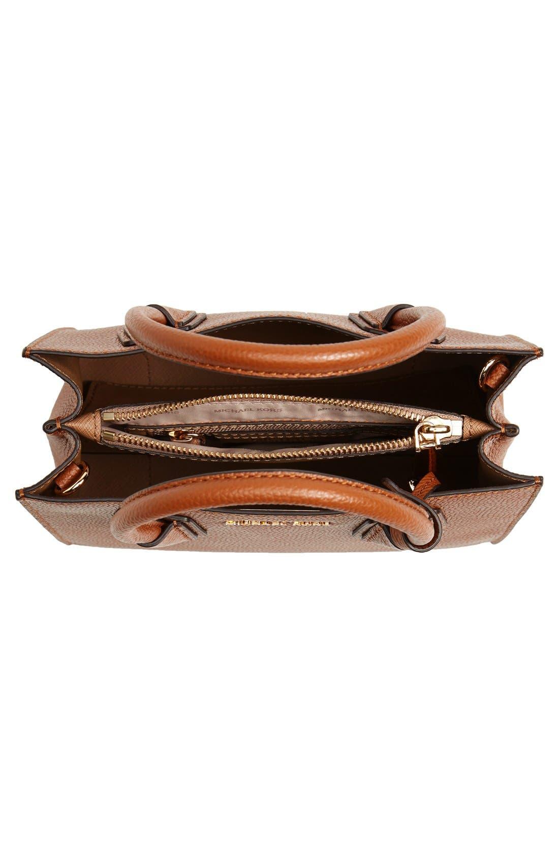 Alternate Image 4  - MICHAEL Michael Kors Mercer Leather Crossbody Bag