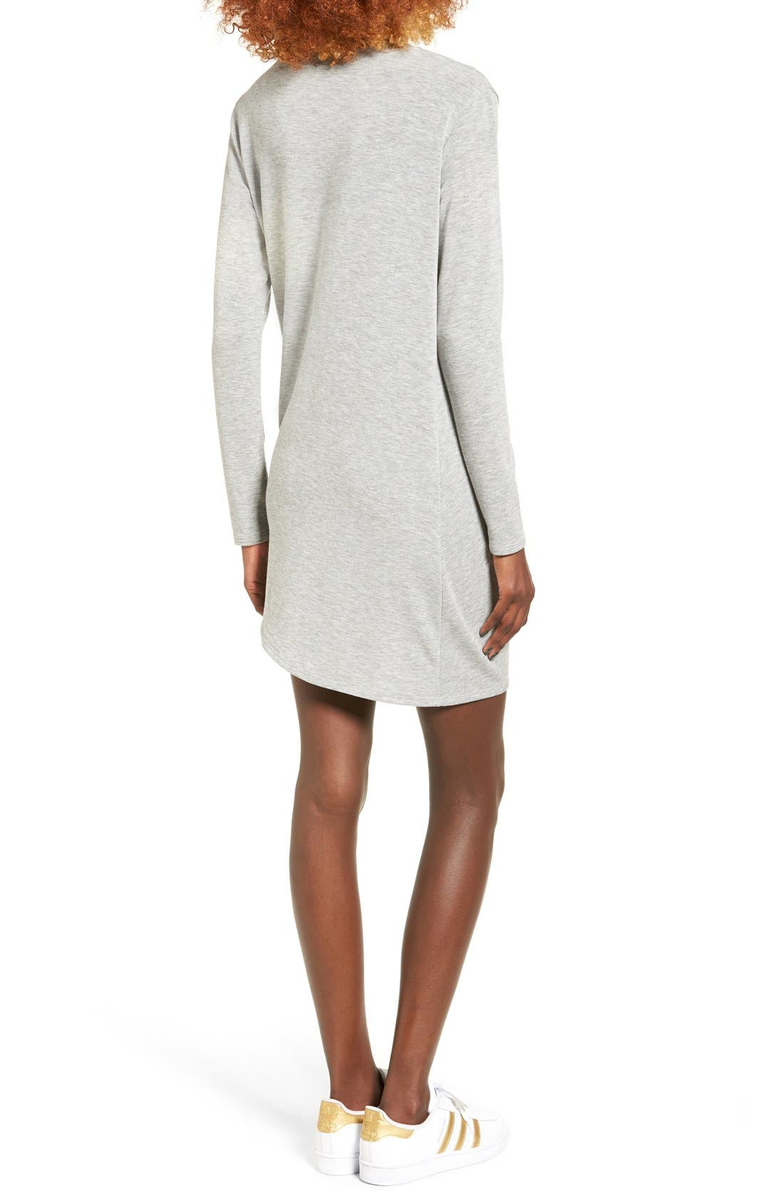 Alternate Image 2  - Michelle by Comune Woodway Knotted Hem T-Shirt Dress