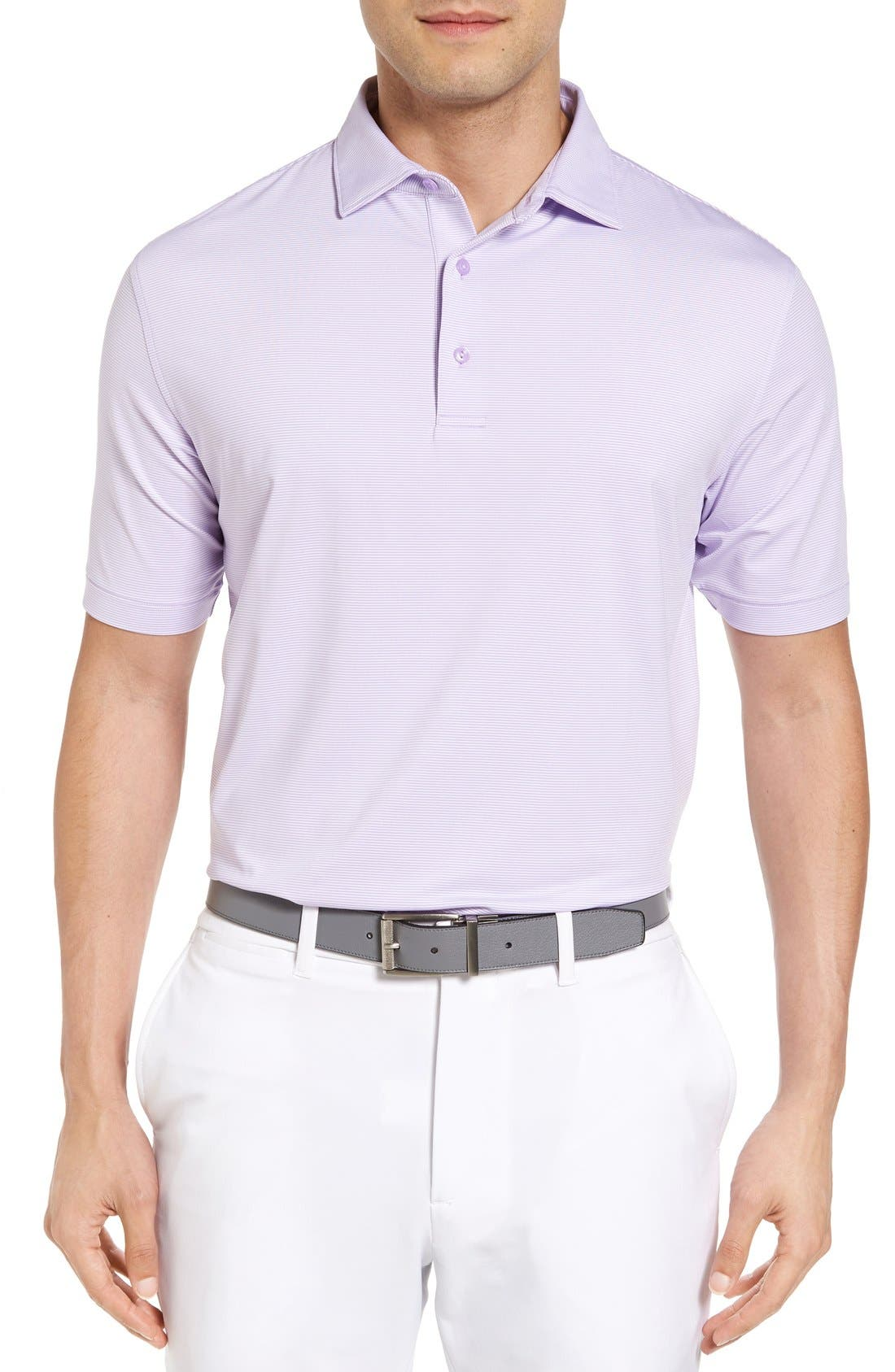 PETER MILLAR Jubilee Stripe Golf Polo