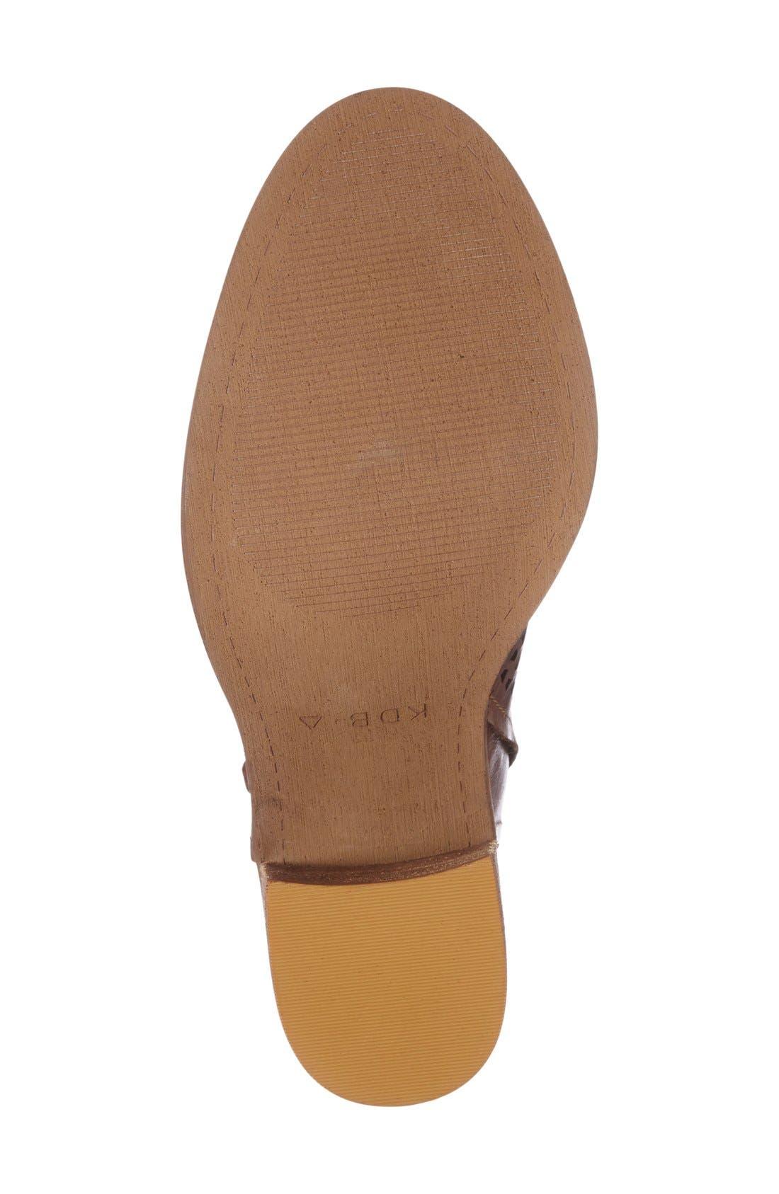 Alternate Image 4  - Kelsi Dagger Brooklyn Mason Peep Toe Perforated Bootie (Women)