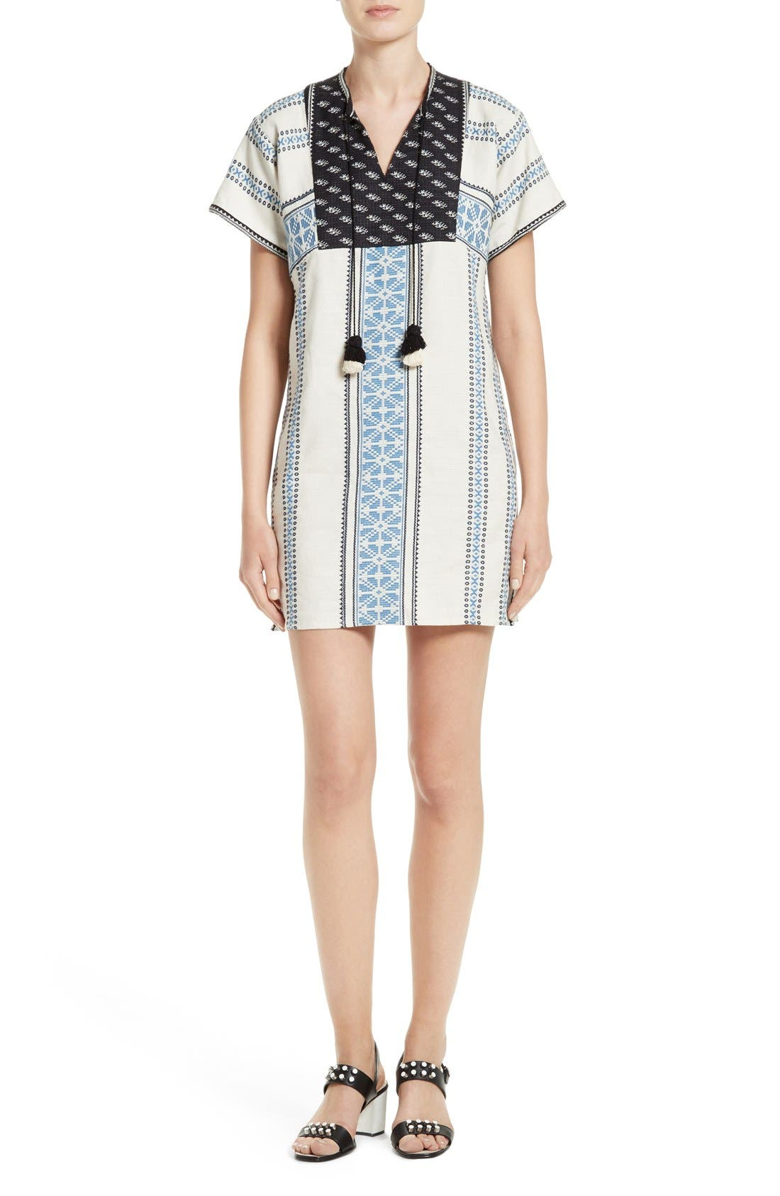 SEA Rita Stripe Tunic Dress