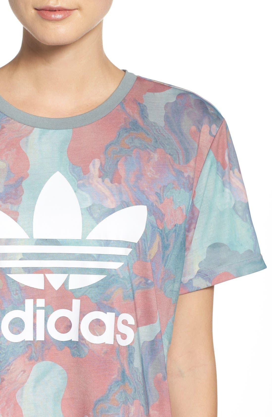 Alternate Image 4  - Adidas Originals Boyfriend Tee