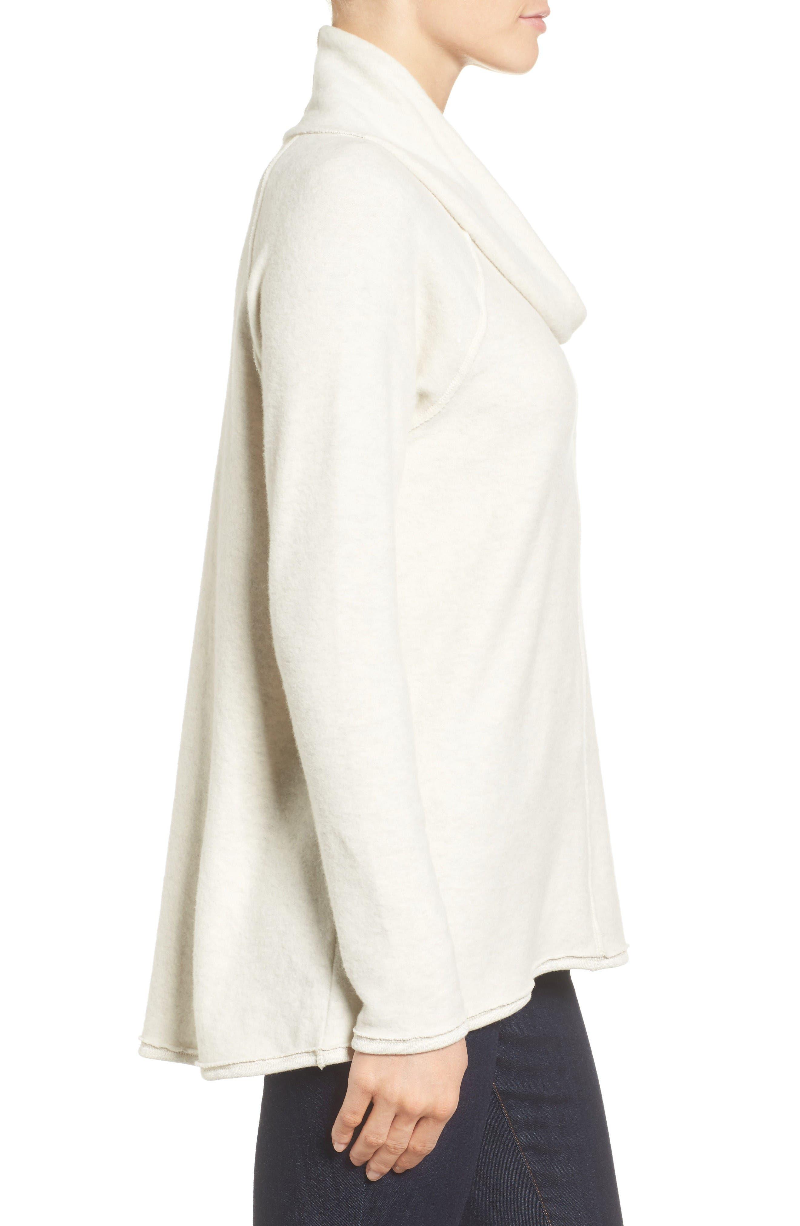 Alternate Image 3  - Caslon® Knit Cowl Neck Tunic