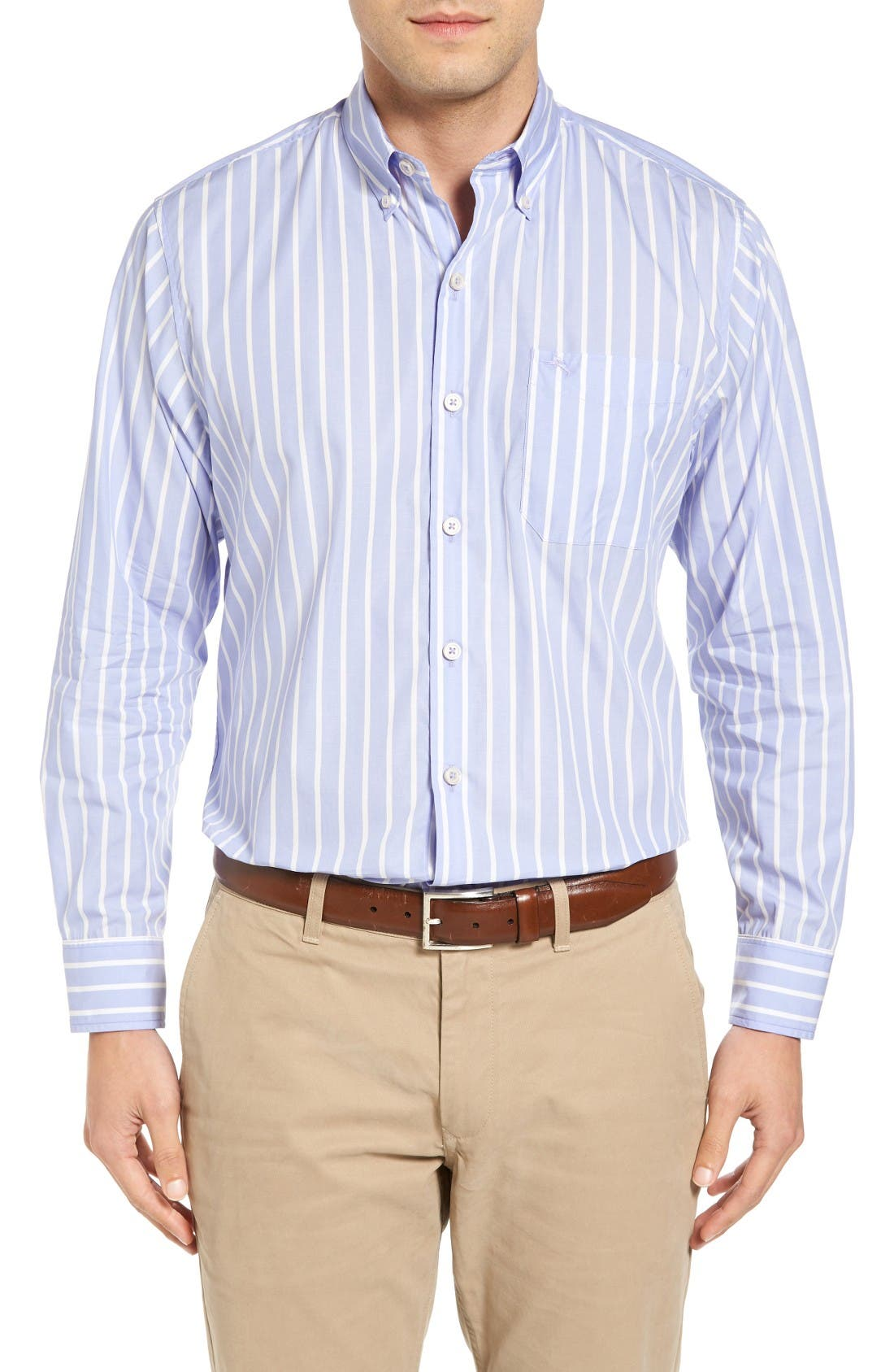 Tommy Bahama Cabana Stripe Standard Fit Sport Shirt