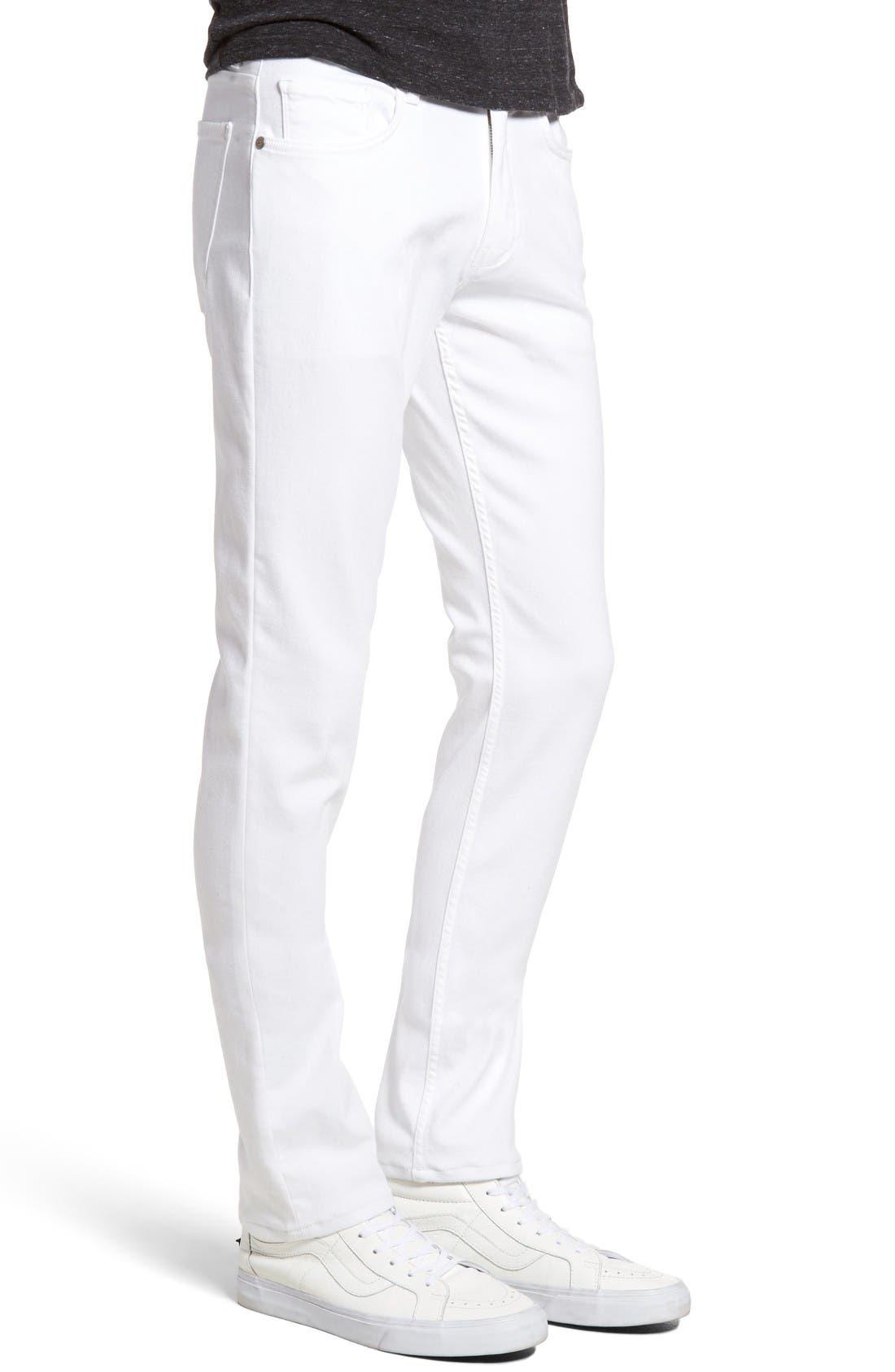 Alternate Image 3  - PAIGE Transcend - Lennox Slim Fit Jeans (Icecap)