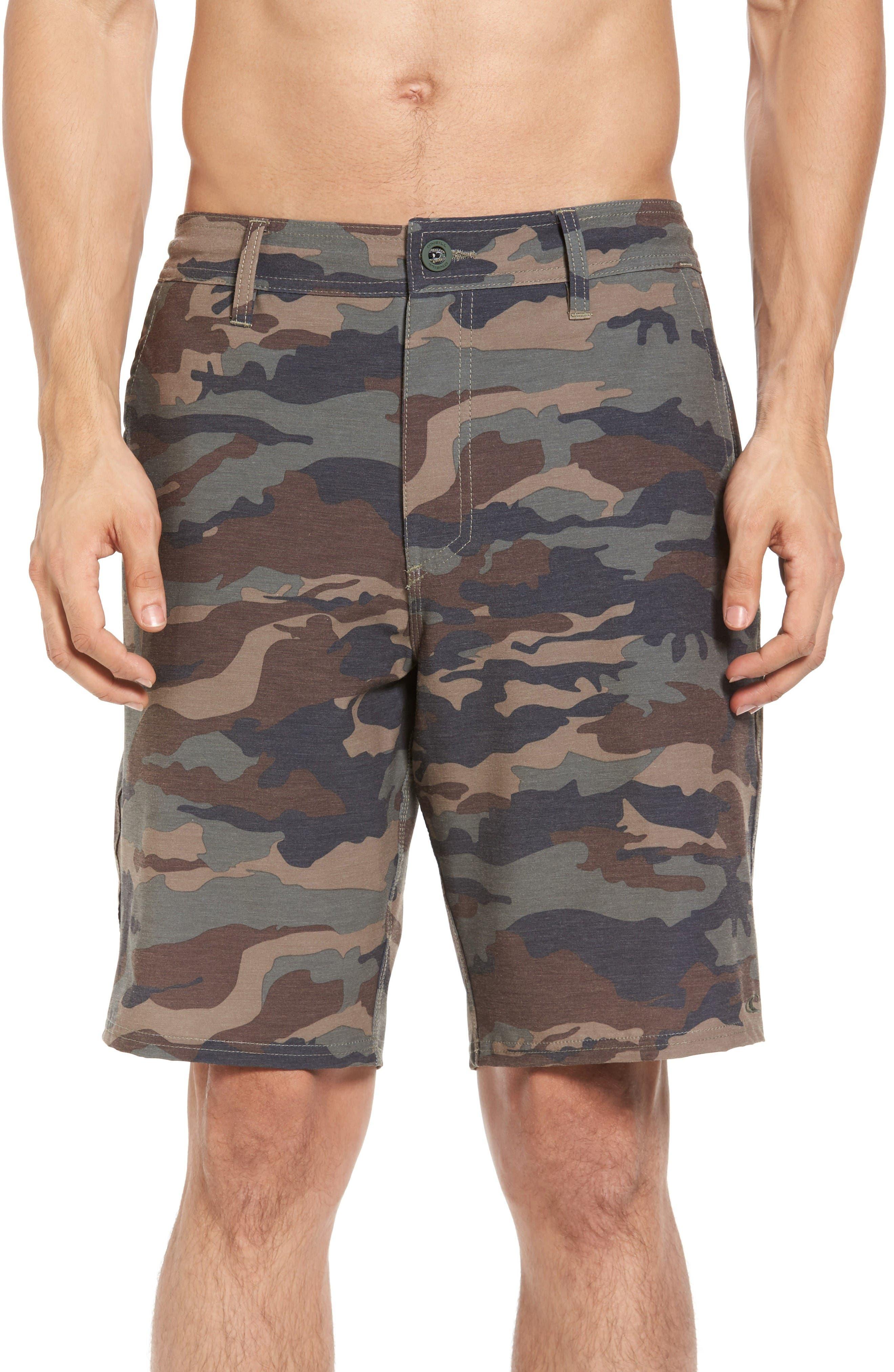 O'Neill Loaded Camo Hybrid Shorts