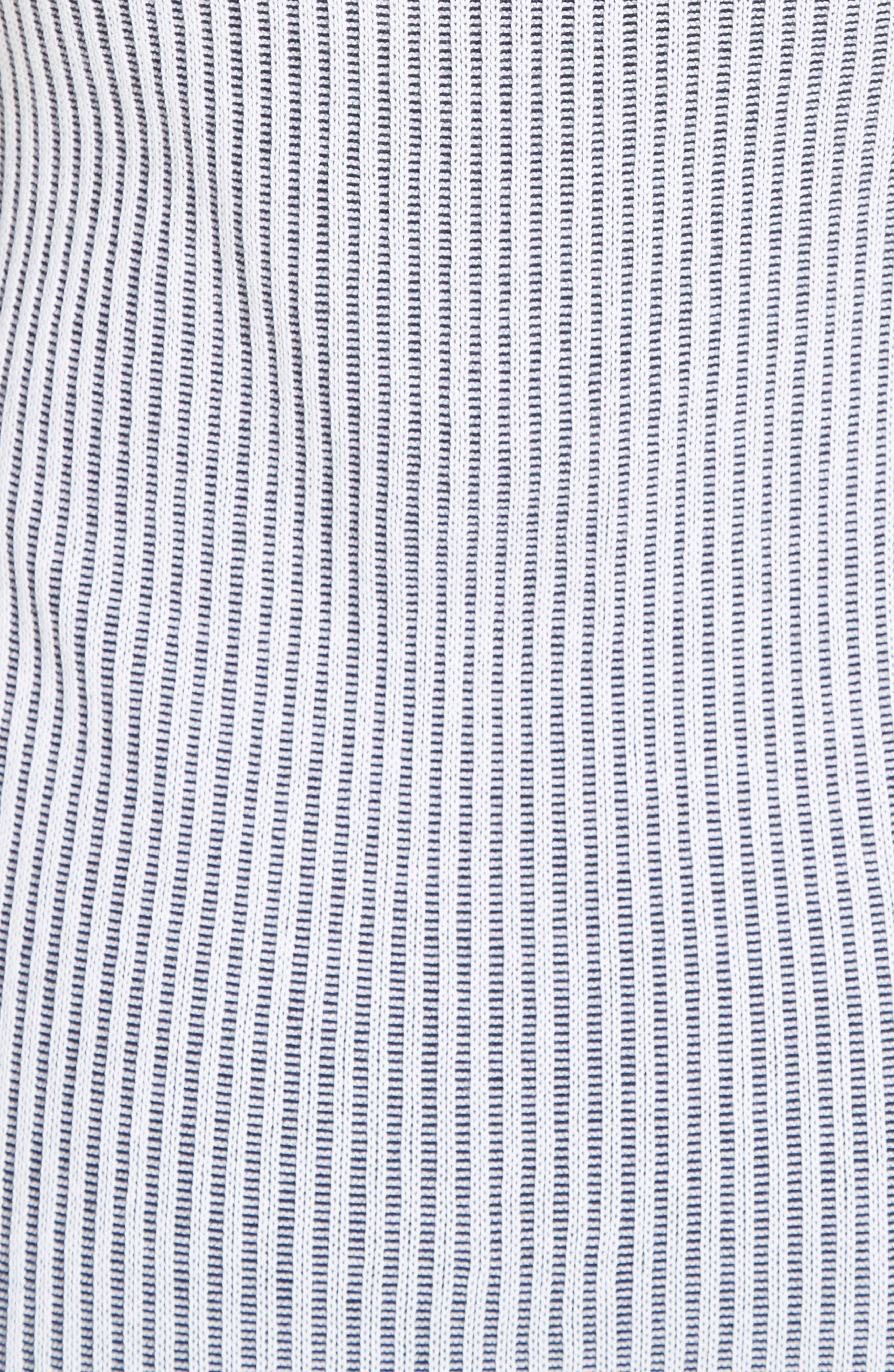 Alternate Image 3  - St. John Collection Two-Tone Rib Knit Dress