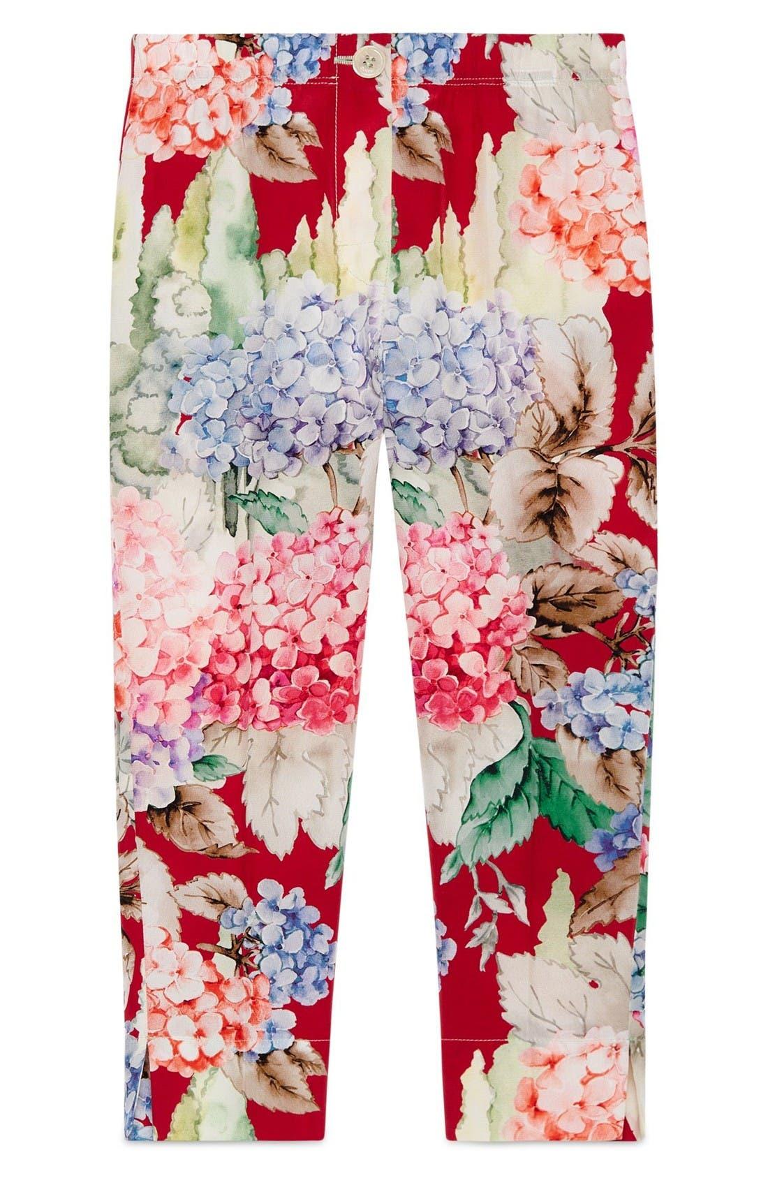 GUCCI Floral Pants