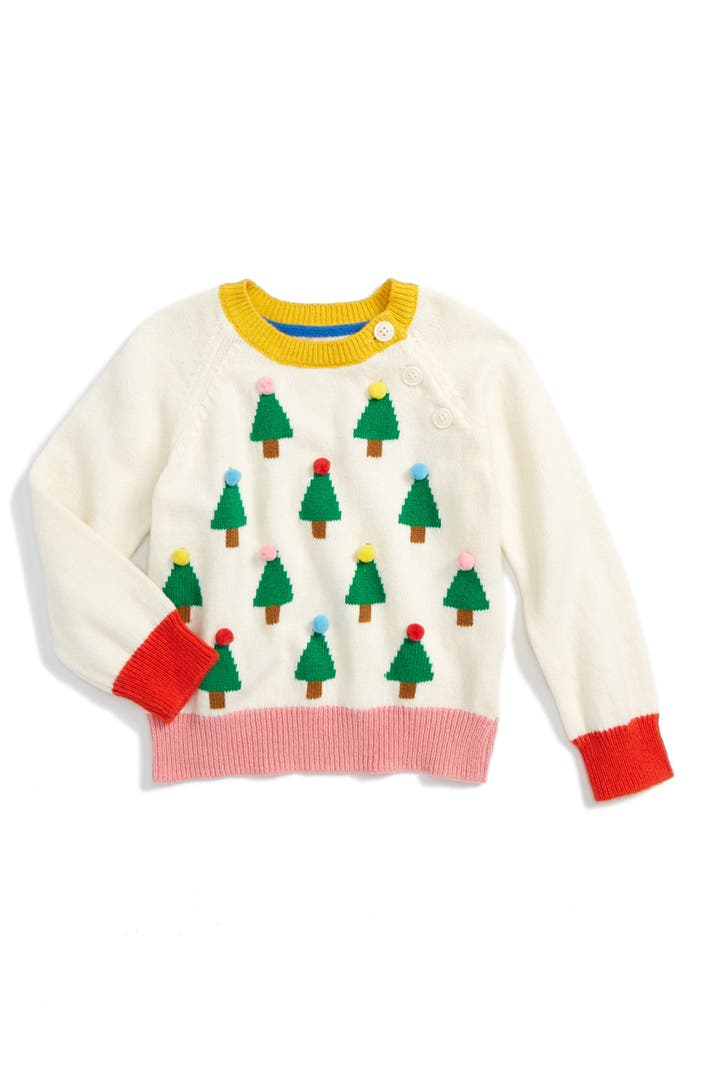 Mini boden festive sweater toddler girls little girls for Mini boden rabatt
