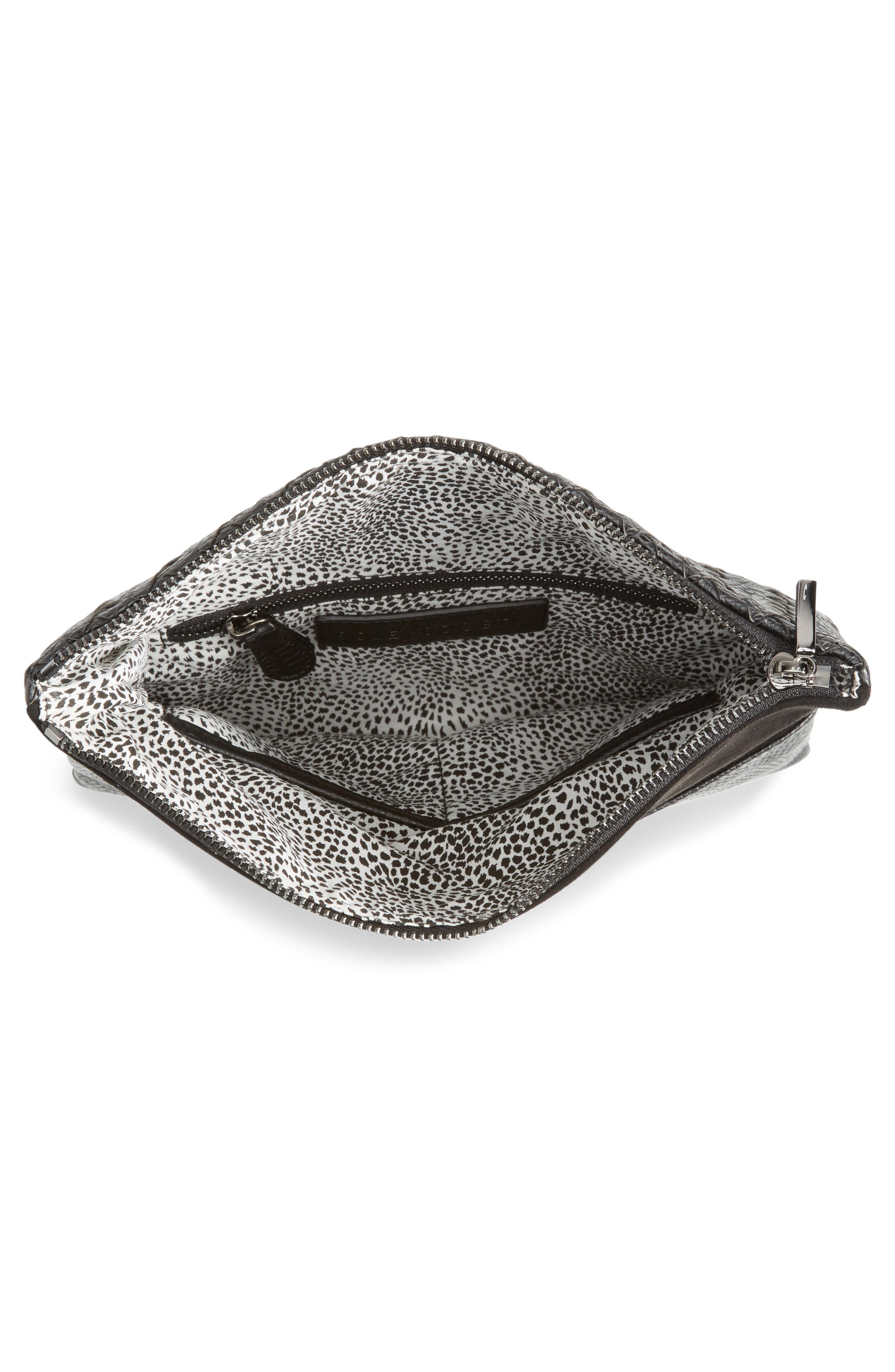 Alternate Image 4  - Sole Society Kaya Crossweave Clutch
