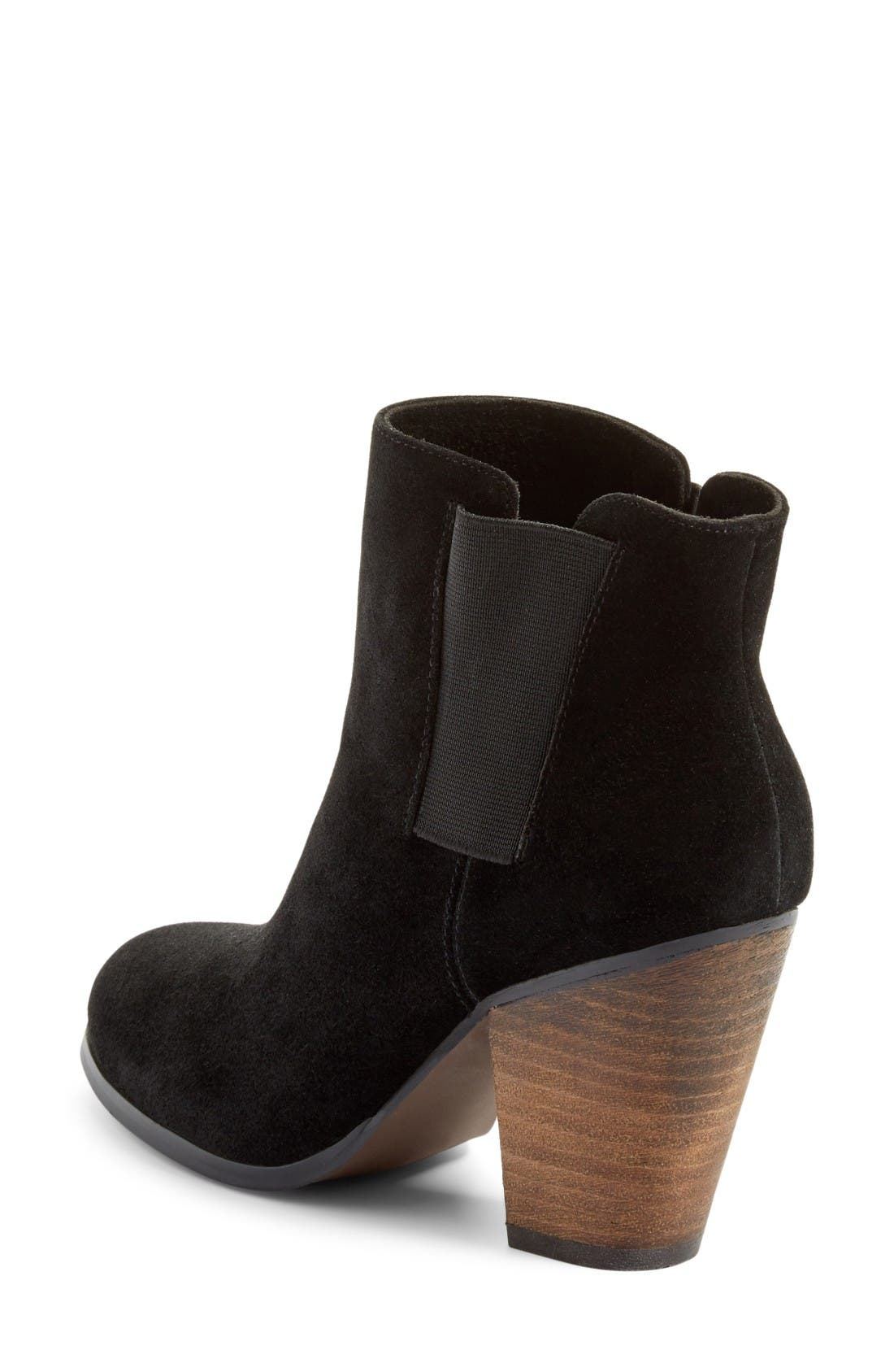 Alternate Image 2  - Sole Society 'Lylee' Suede Bootie (Women)