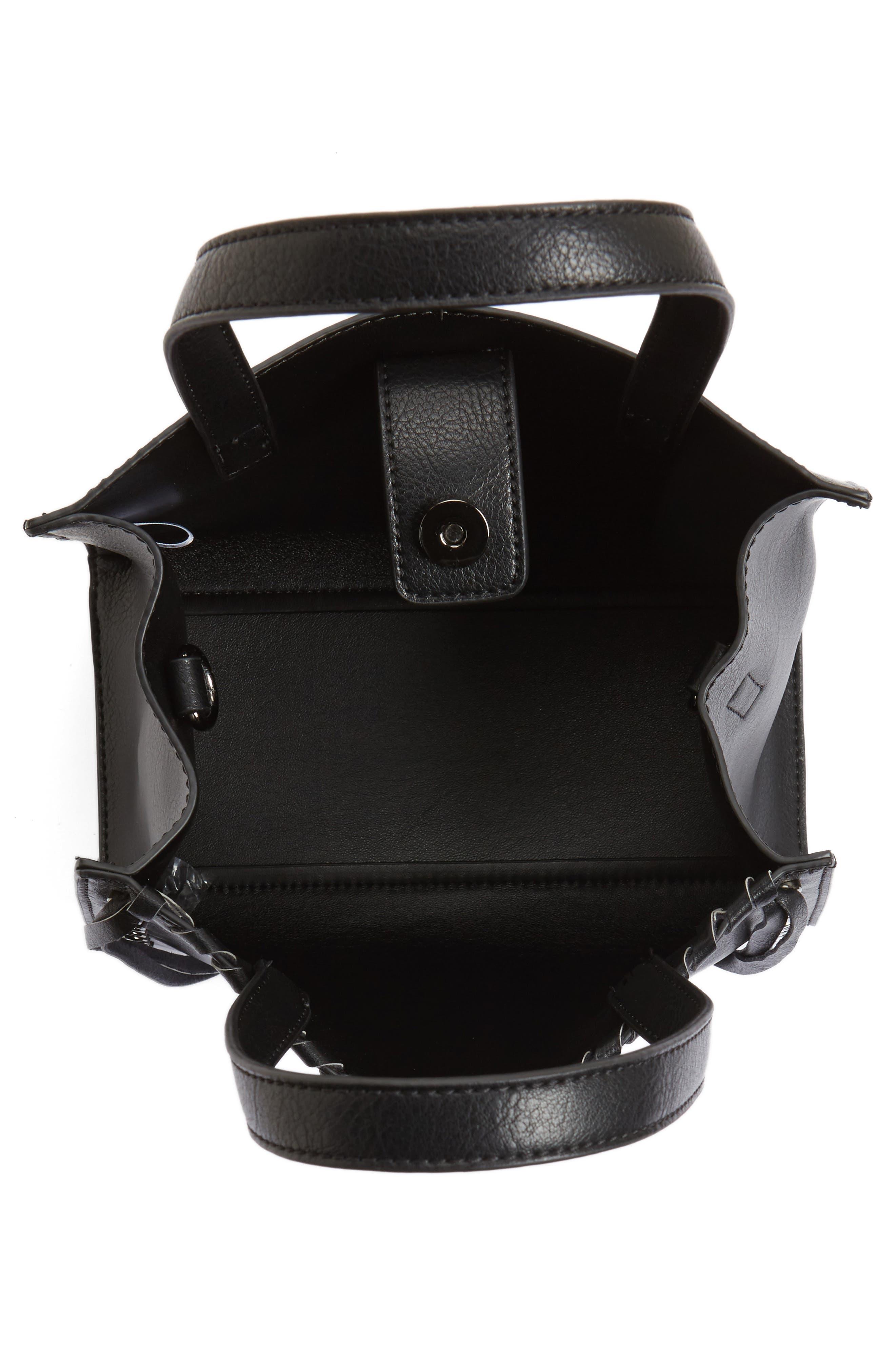 Alternate Image 4  - BP. Studded Faux Leather Crossbody Bag