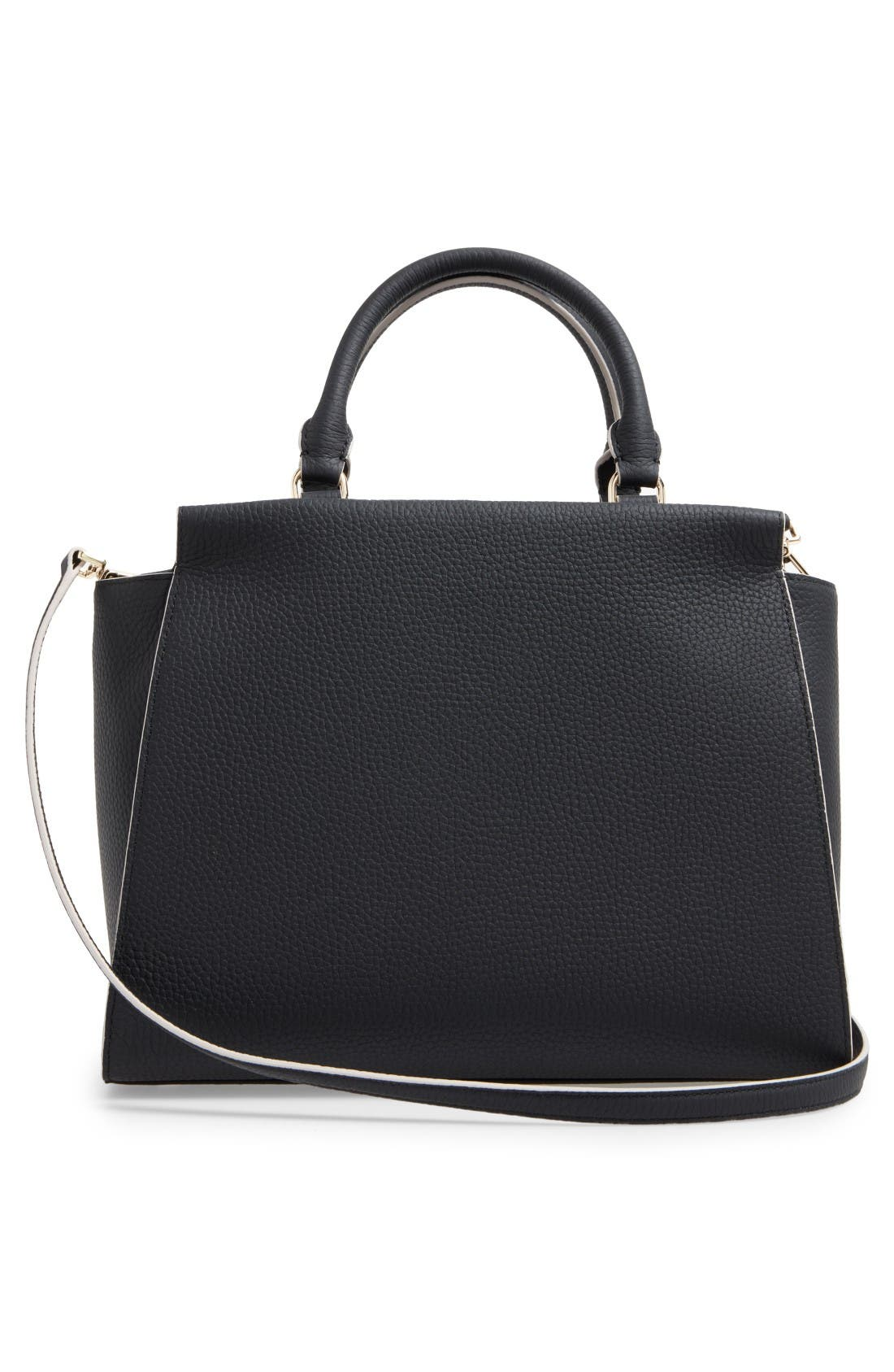 Alternate Image 3  - kate spade new york leewood place makayla leather satchel