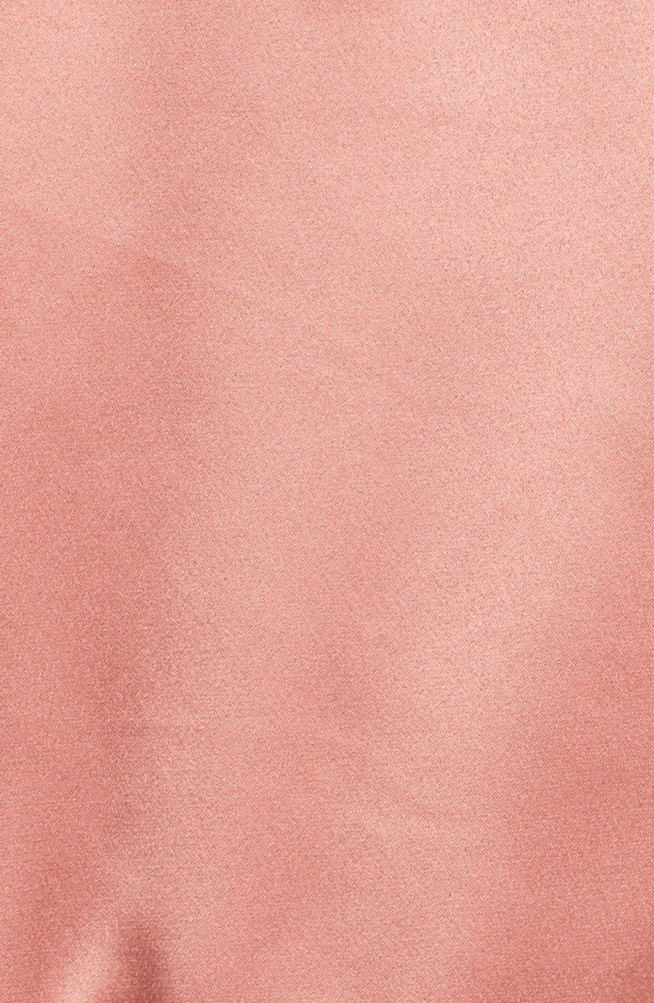 Alternate Image 5  - adidas Originals Trefoil Satin Jacket
