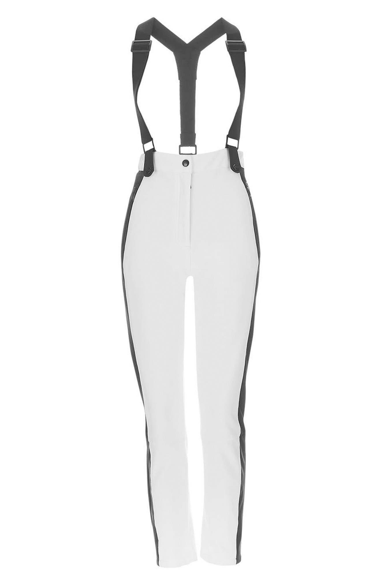 Alternate Image 4  - Topshop Ziggy Skinny Fit Snow Pants