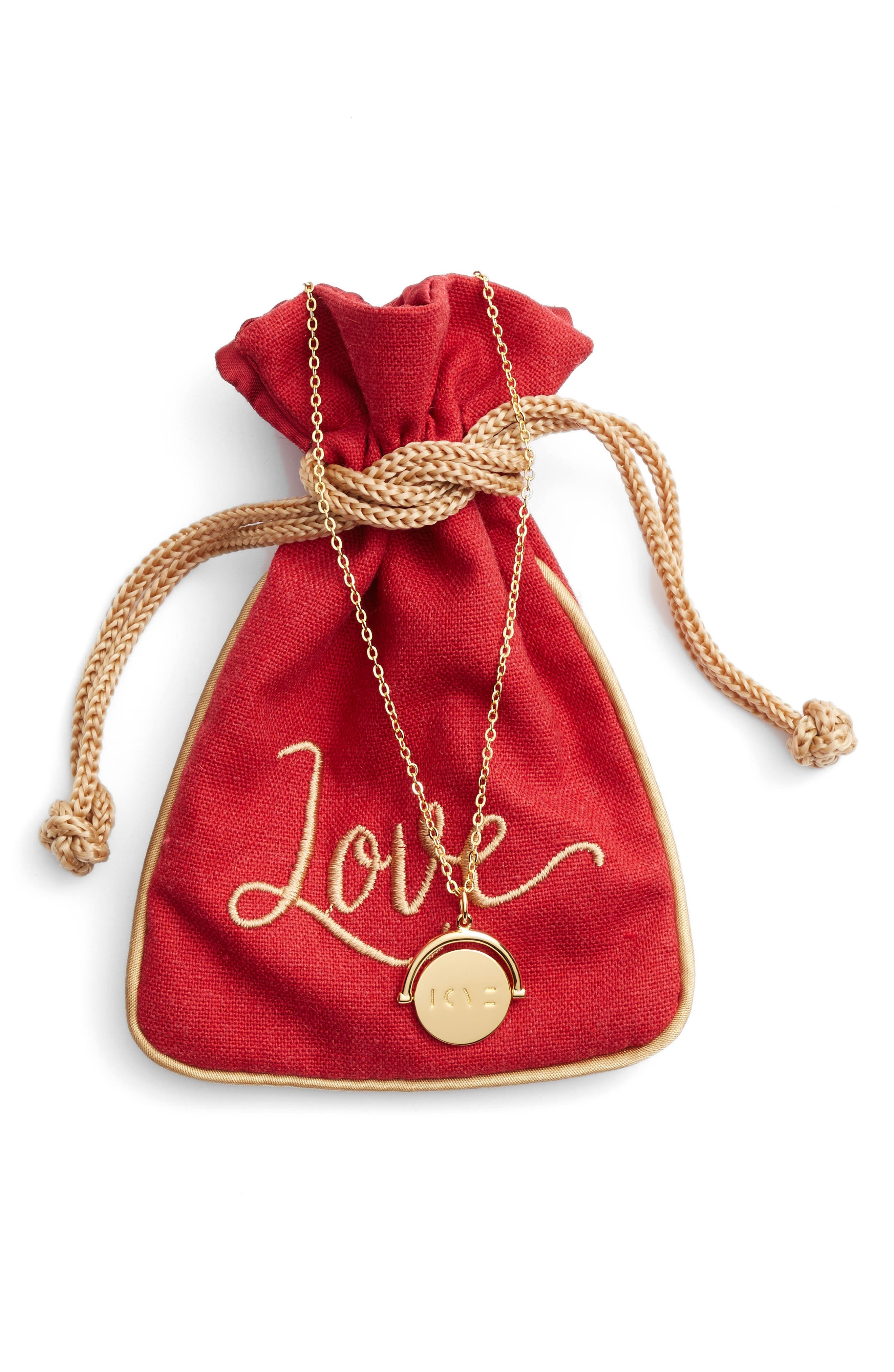 Alternate Image 4  - lulu dk Love Love Code Charm Necklace