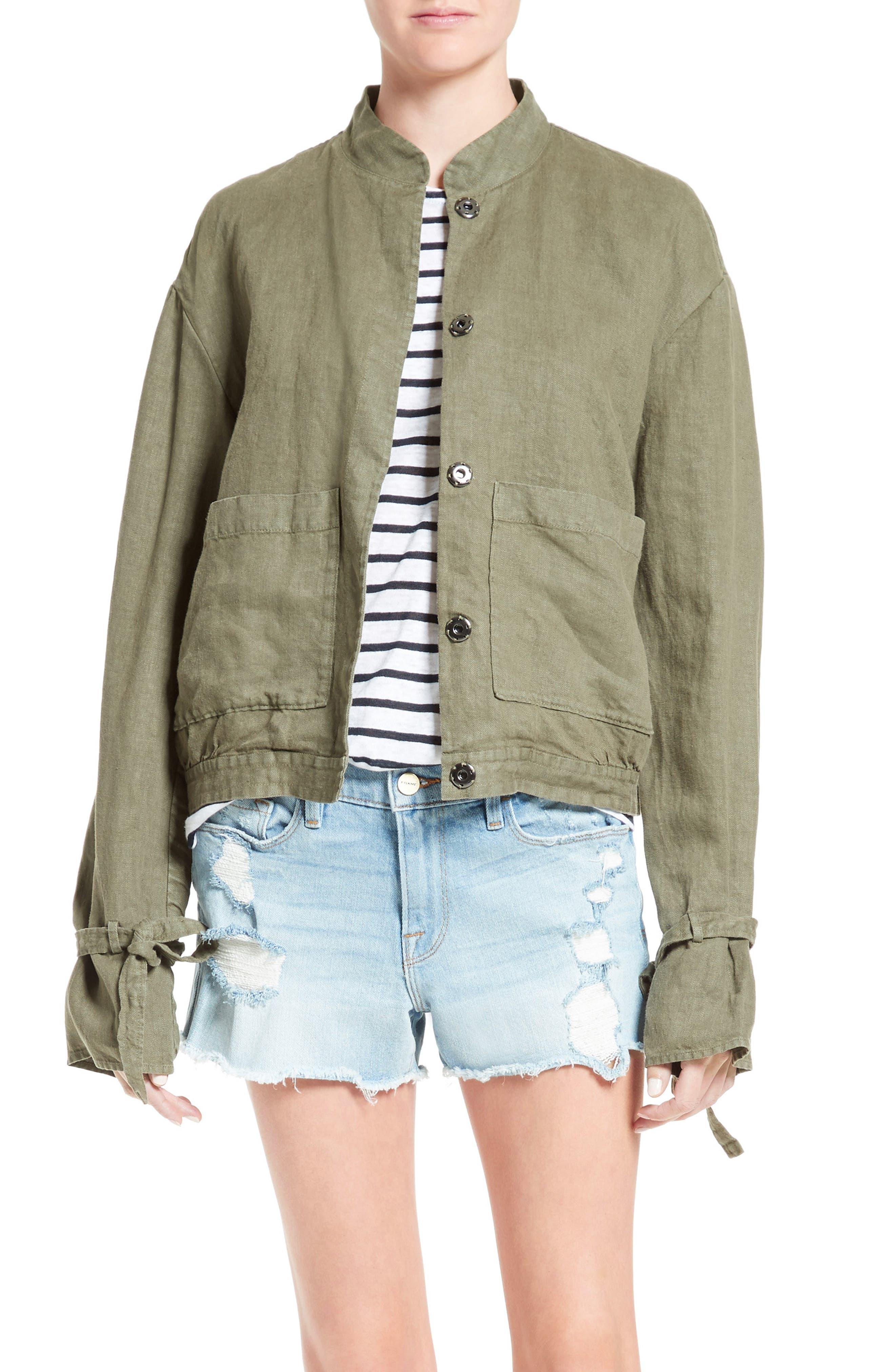 FRAME New Linen Jacket