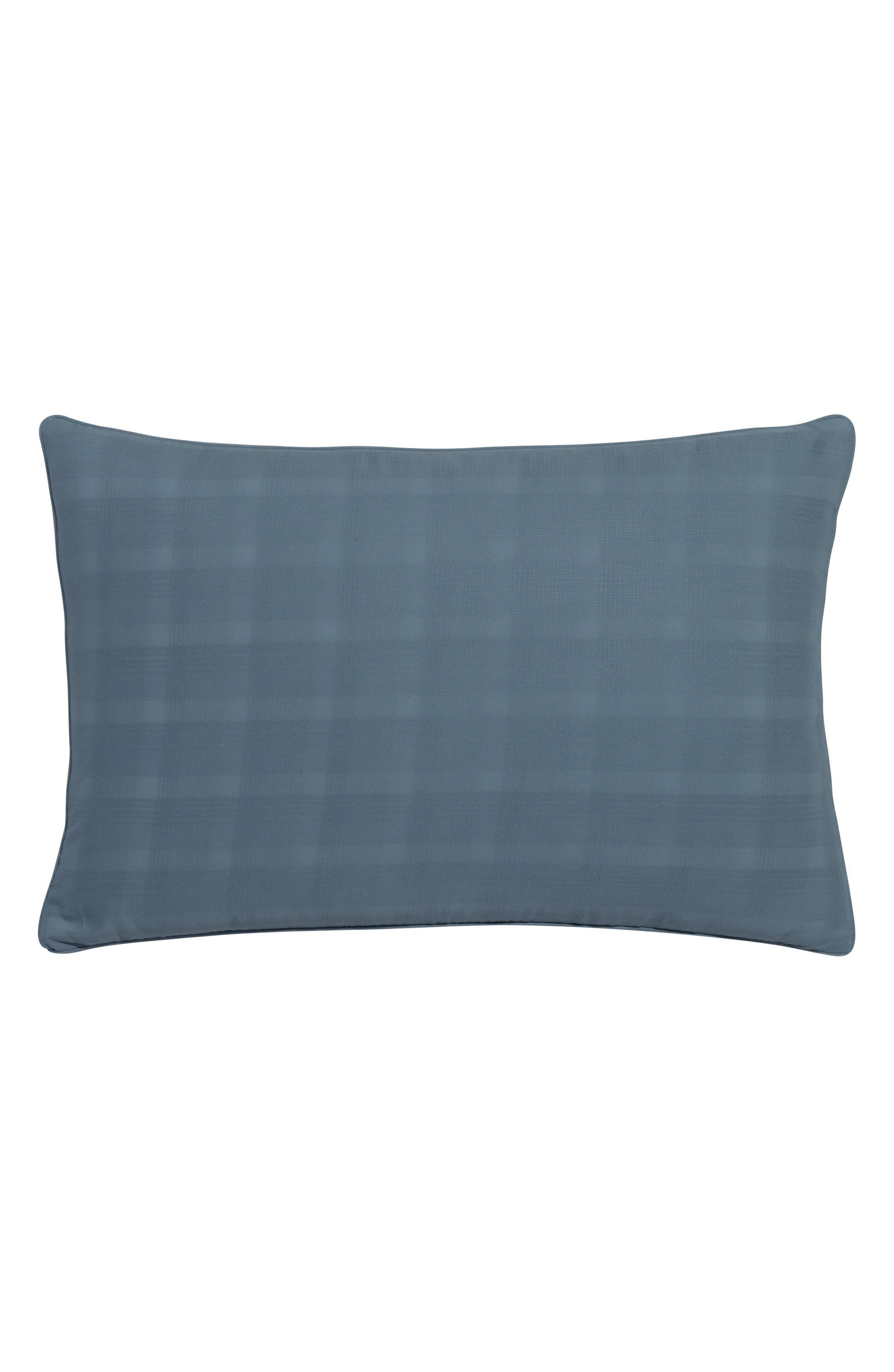 PORTICO Glacier Bay Plaid Accent Pillow