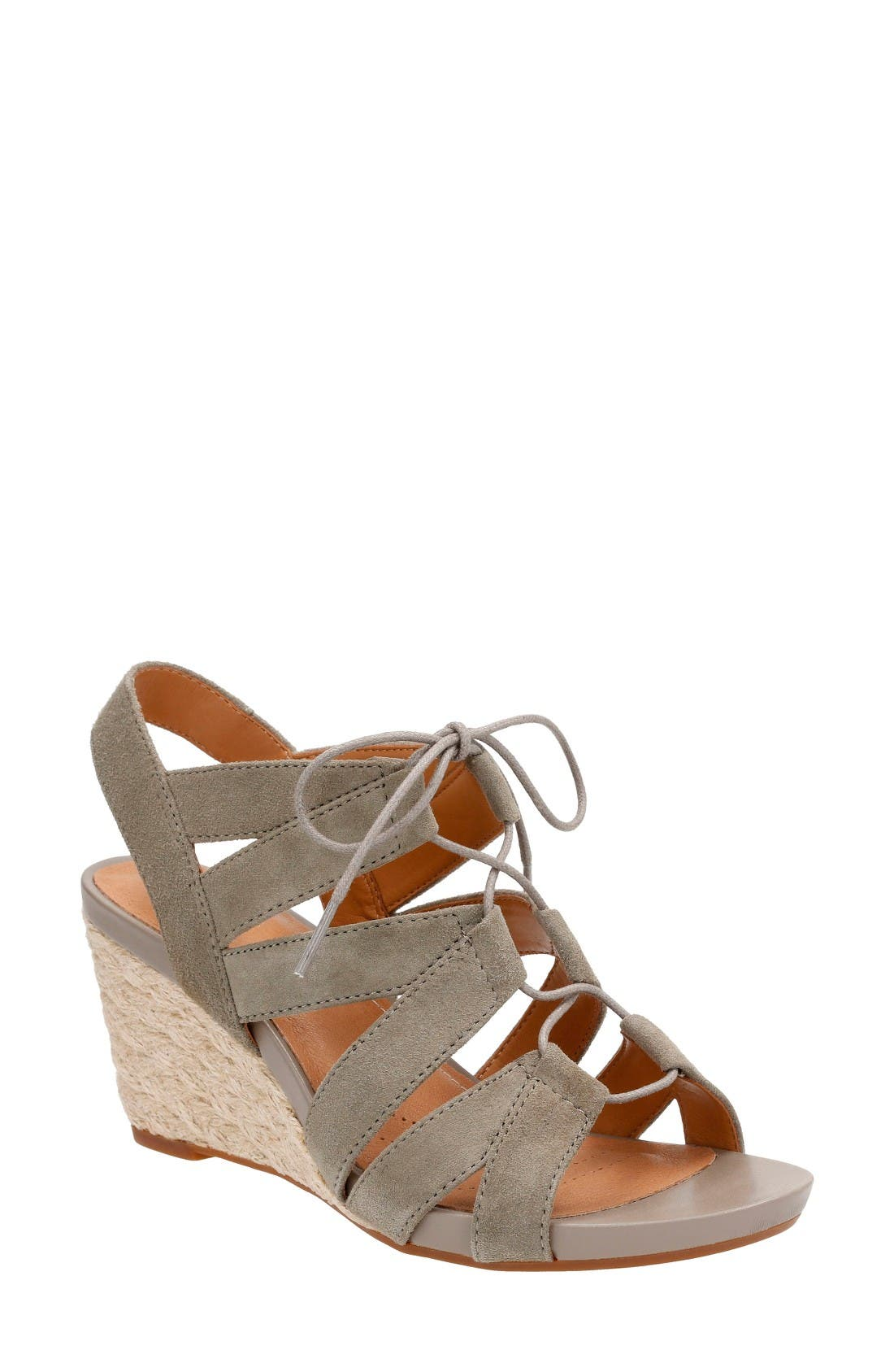 Clarks® Acina Chester Wedge Sandal (Women)