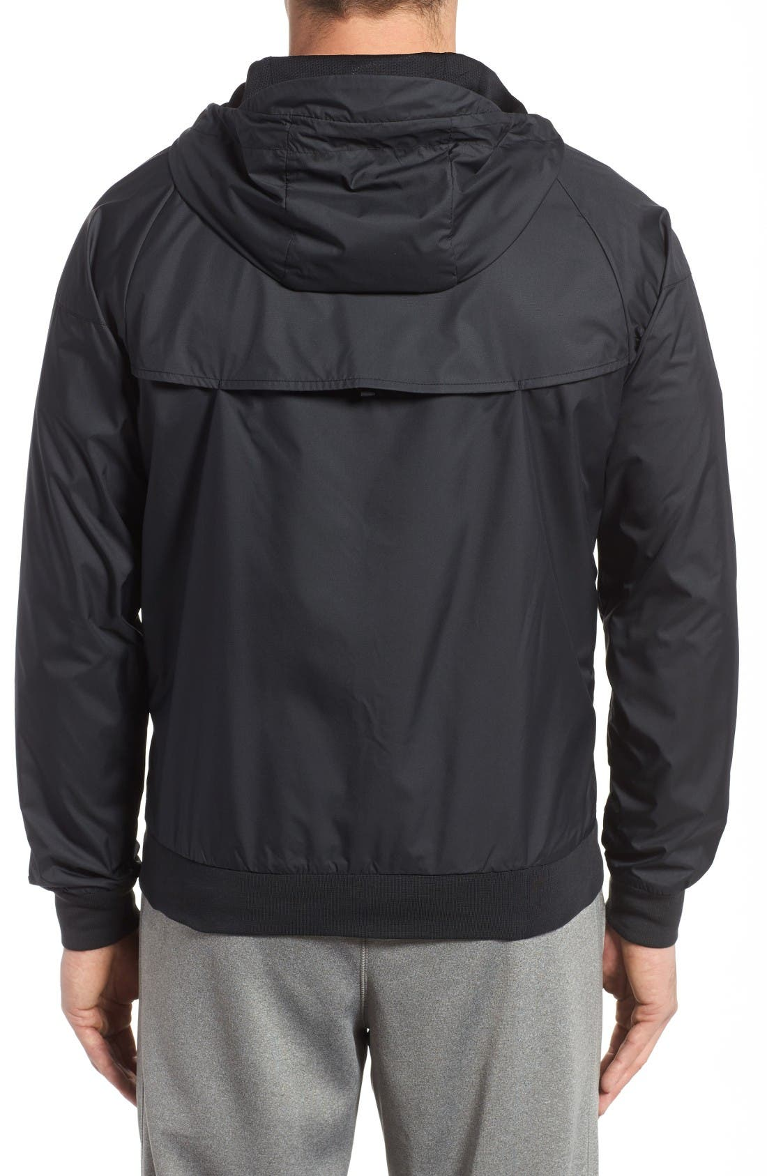 Alternate Image 2  - Nike 'Windrunner' Colorblock Jacket