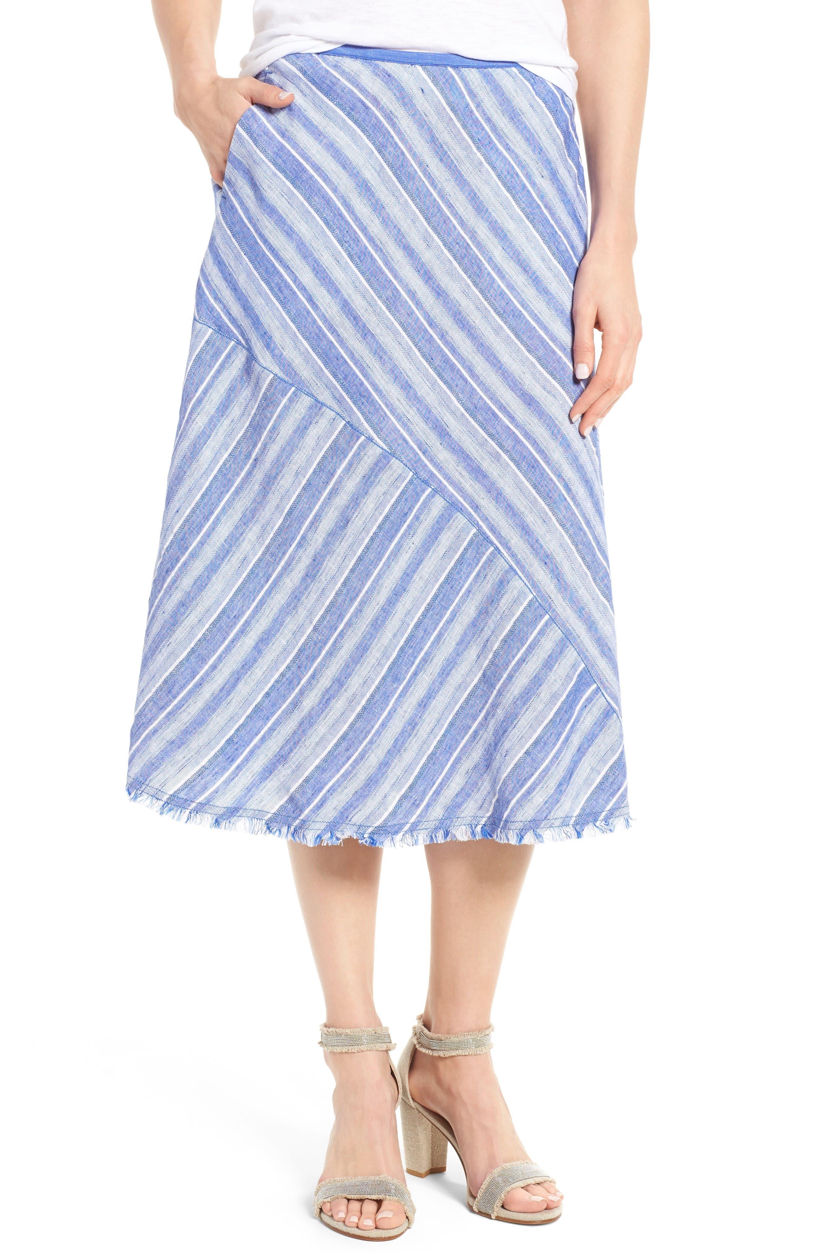 Alternate Image 1 Selected - NIC+ZOE Freshwater A-Line Skirt
