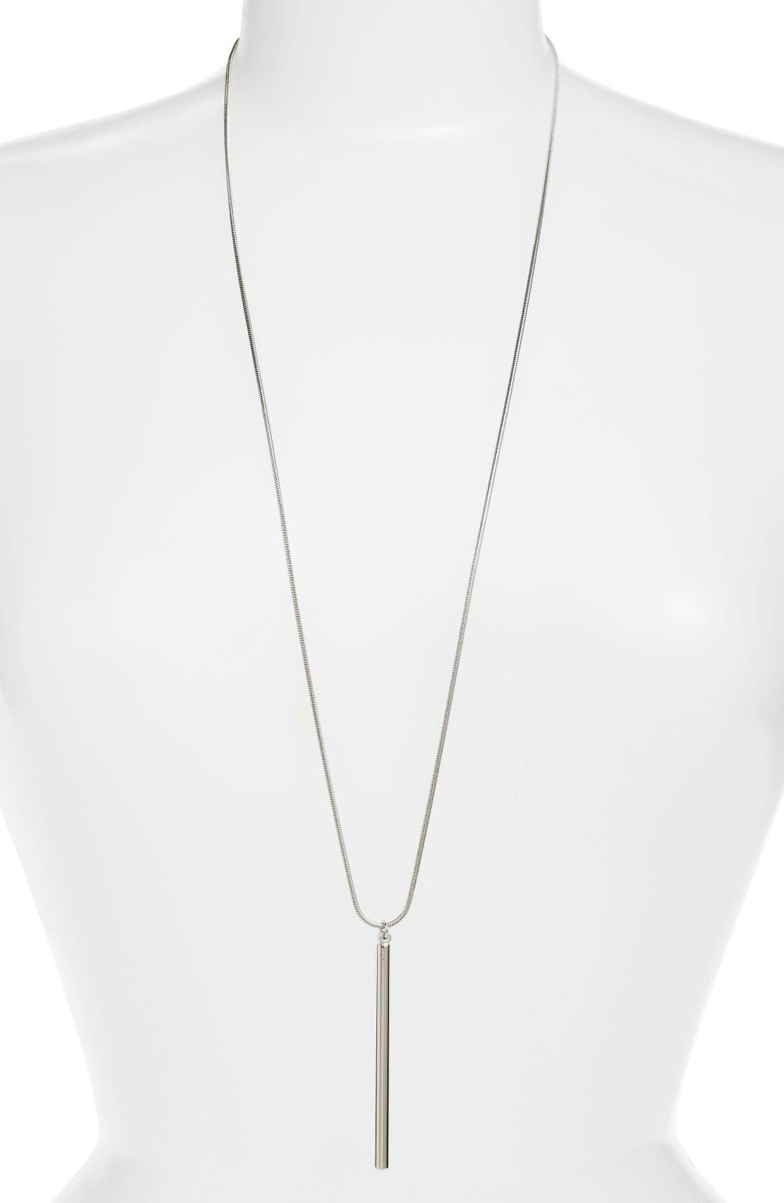 Argento Vivo Stick Pendant Necklace