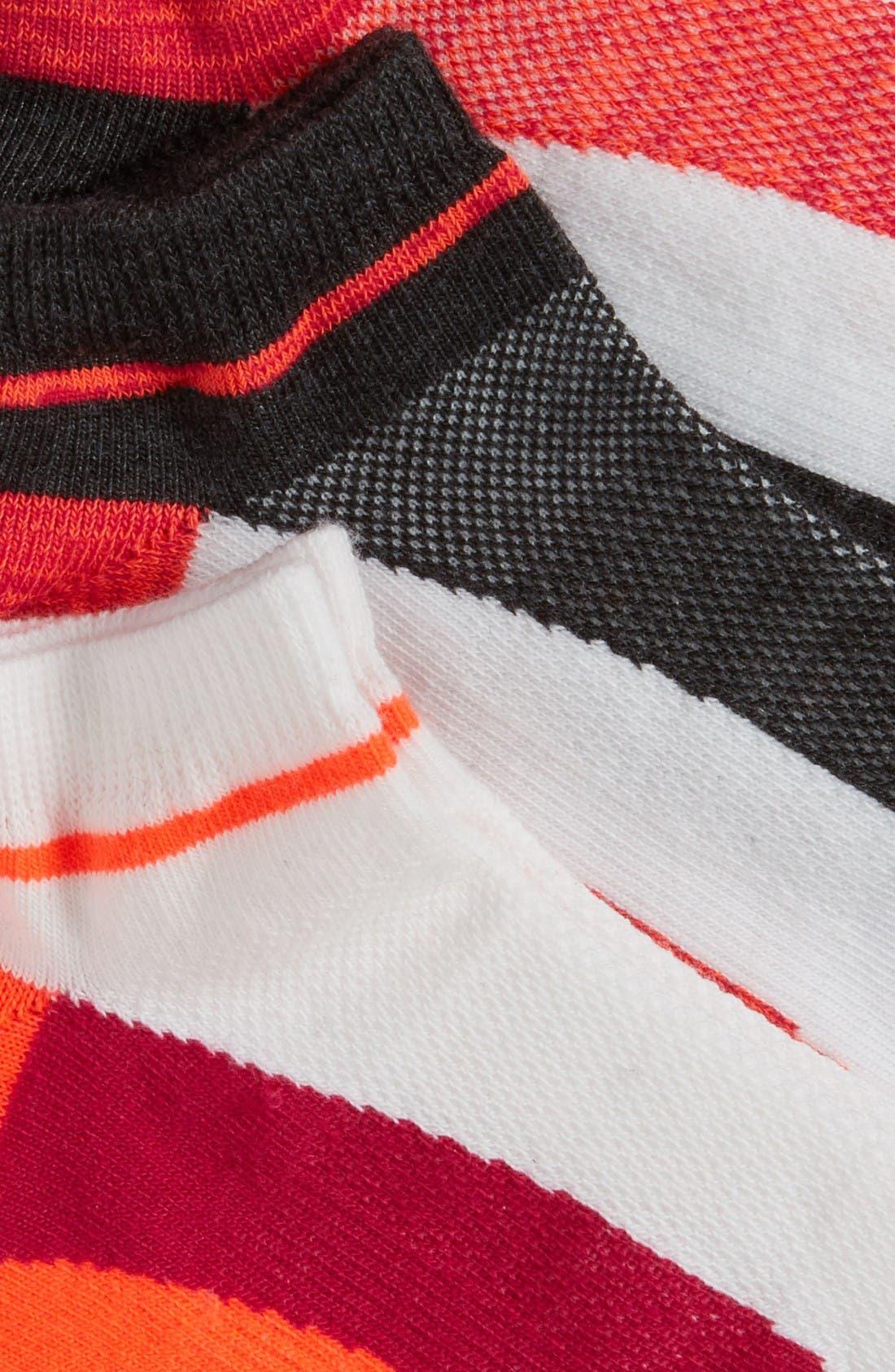 Alternate Image 2  - Zella Fitness 3-Pack Liner Socks
