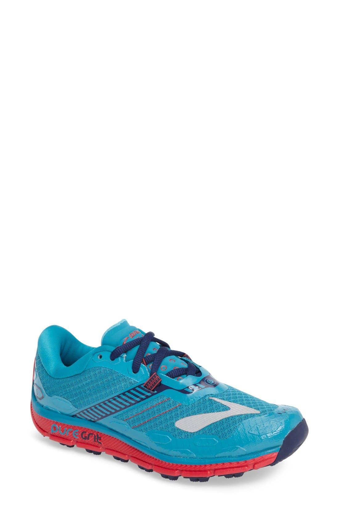 Brooks 'PureGrit 5' Trail Running Shoe (Women)