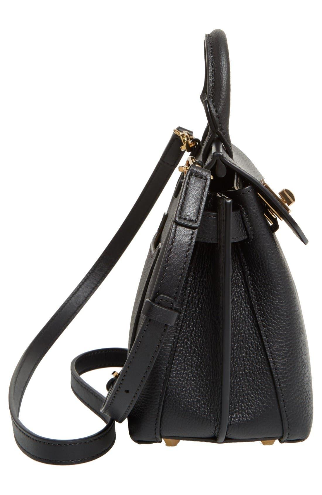 Alternate Image 5  - MCM Milla Leather Crossbody Bag