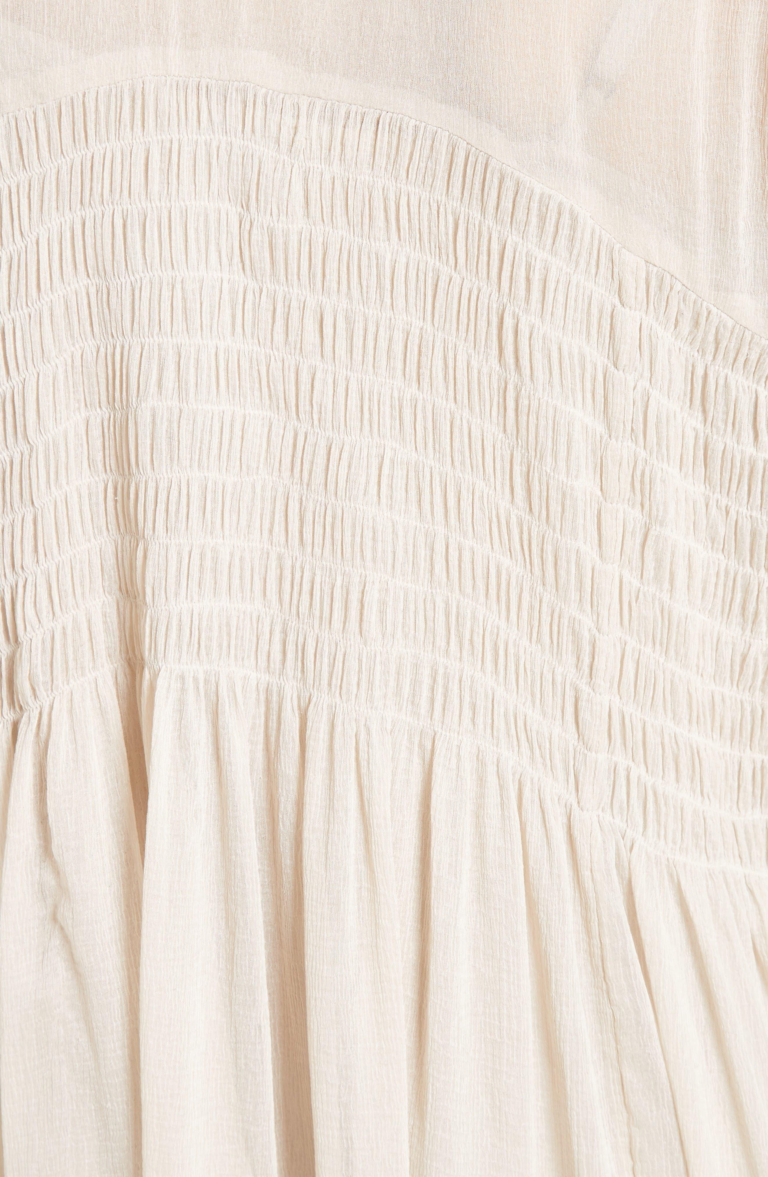Alternate Image 5  - Free People Lini Babydoll Dress