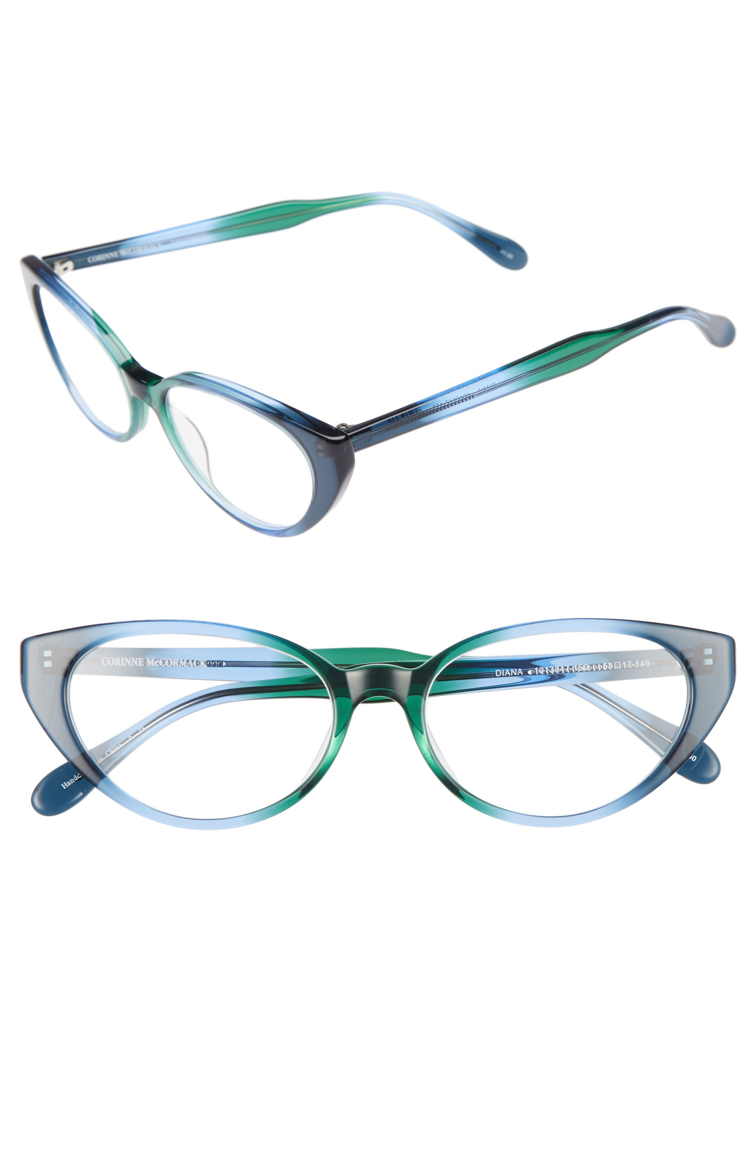 Corinne McCormack Diana 53mm Cat Eye Reading Glasses
