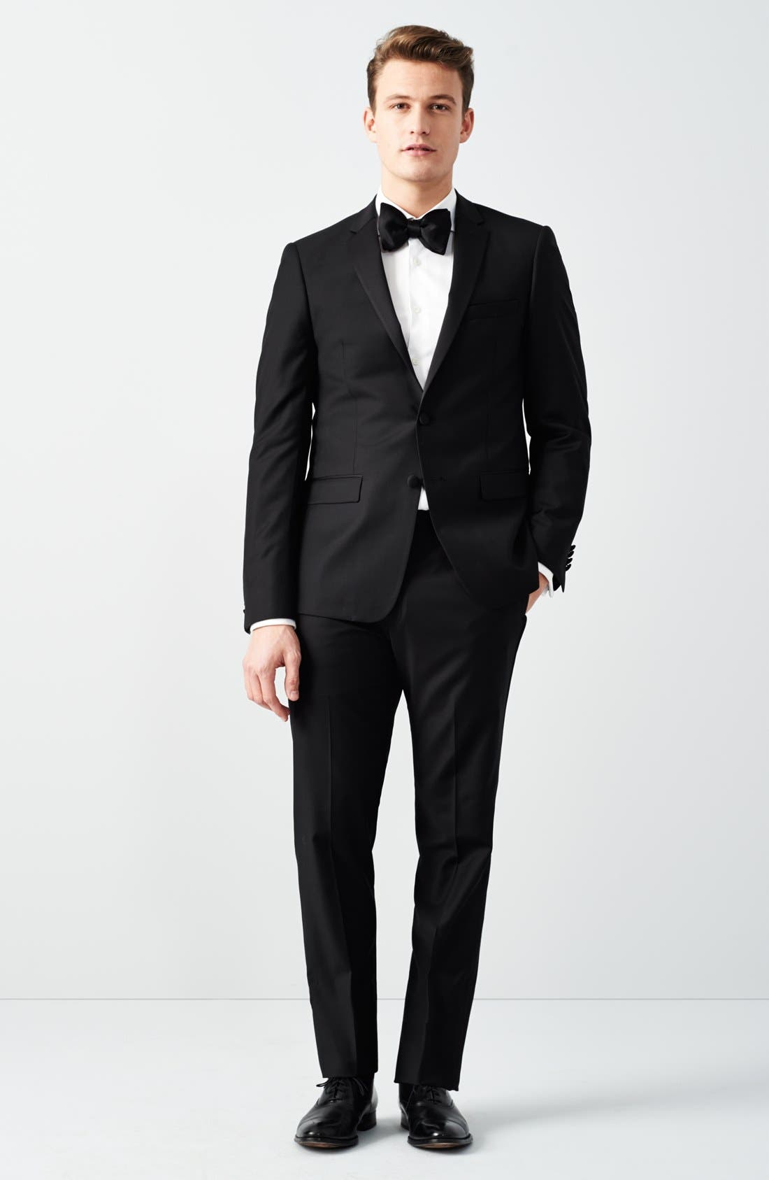 Alternate Image 7  - Michael Kors Trim Fit Wool Tuxedo