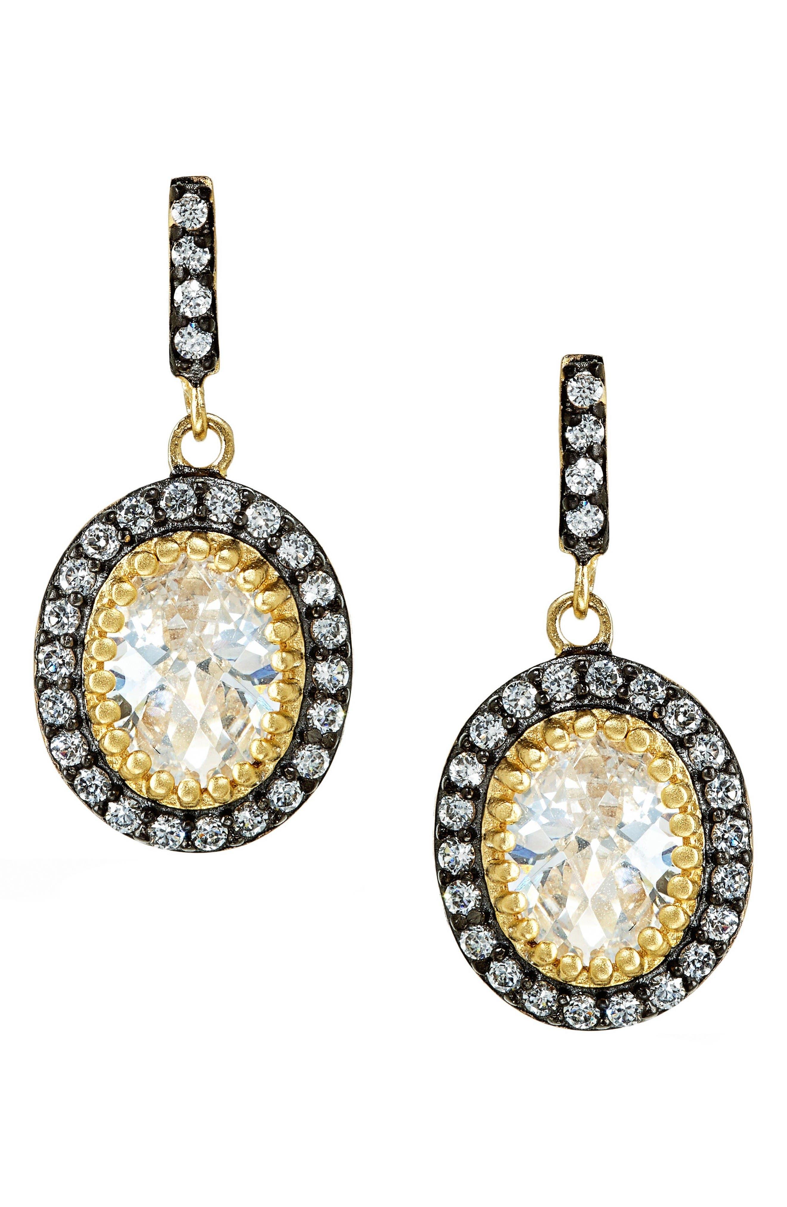 Alternate Image 1 Selected - FREIDA ROTHMAN 'Madison Avenue' Drop Earrings